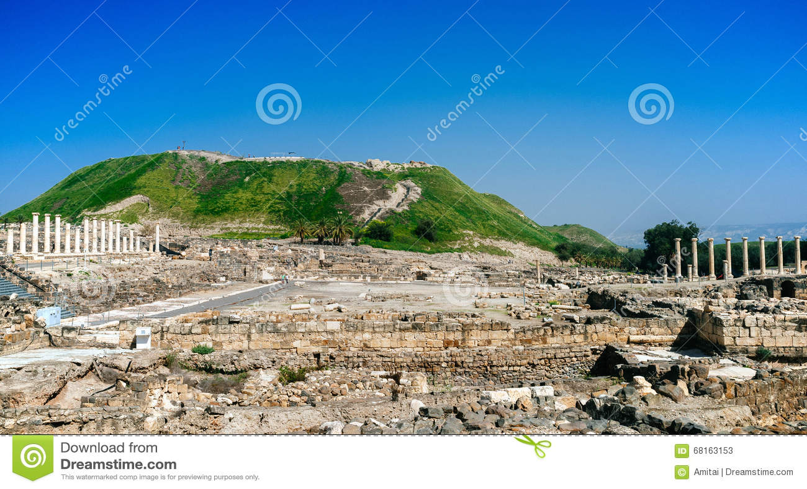Série da Terra Santa - Beit Shean ruins#4