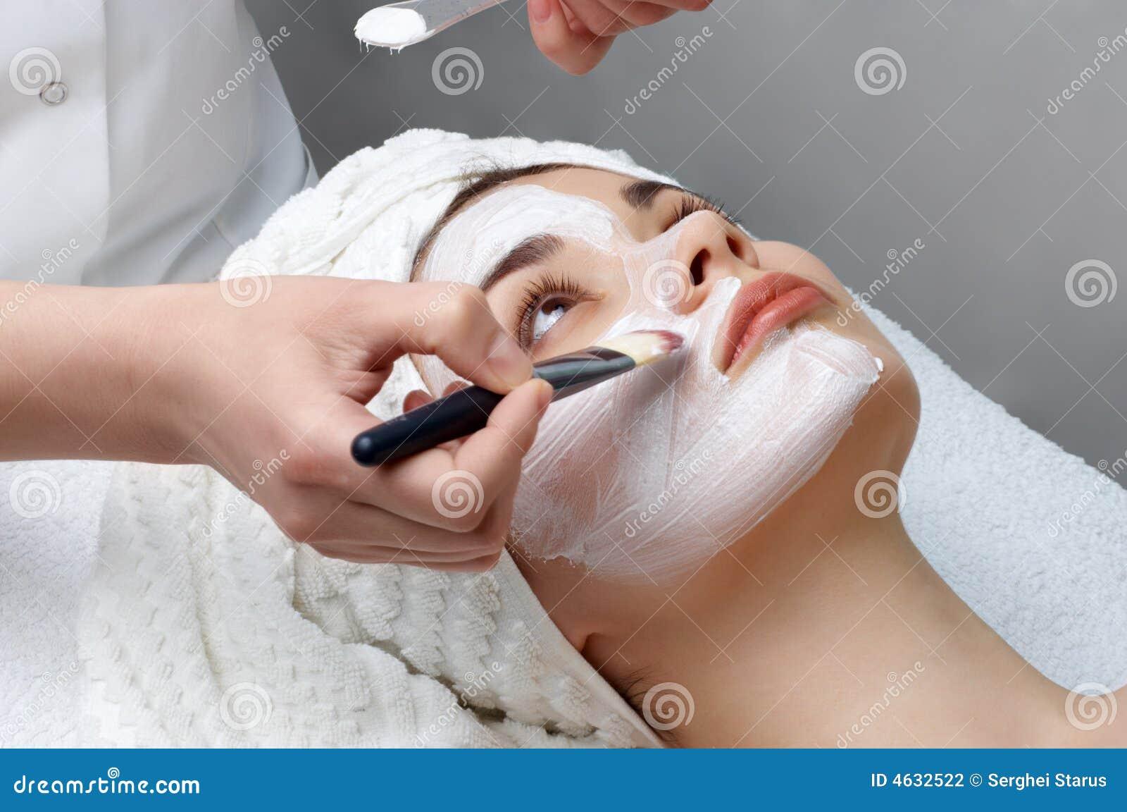 Série de salon de beauté, mA facial