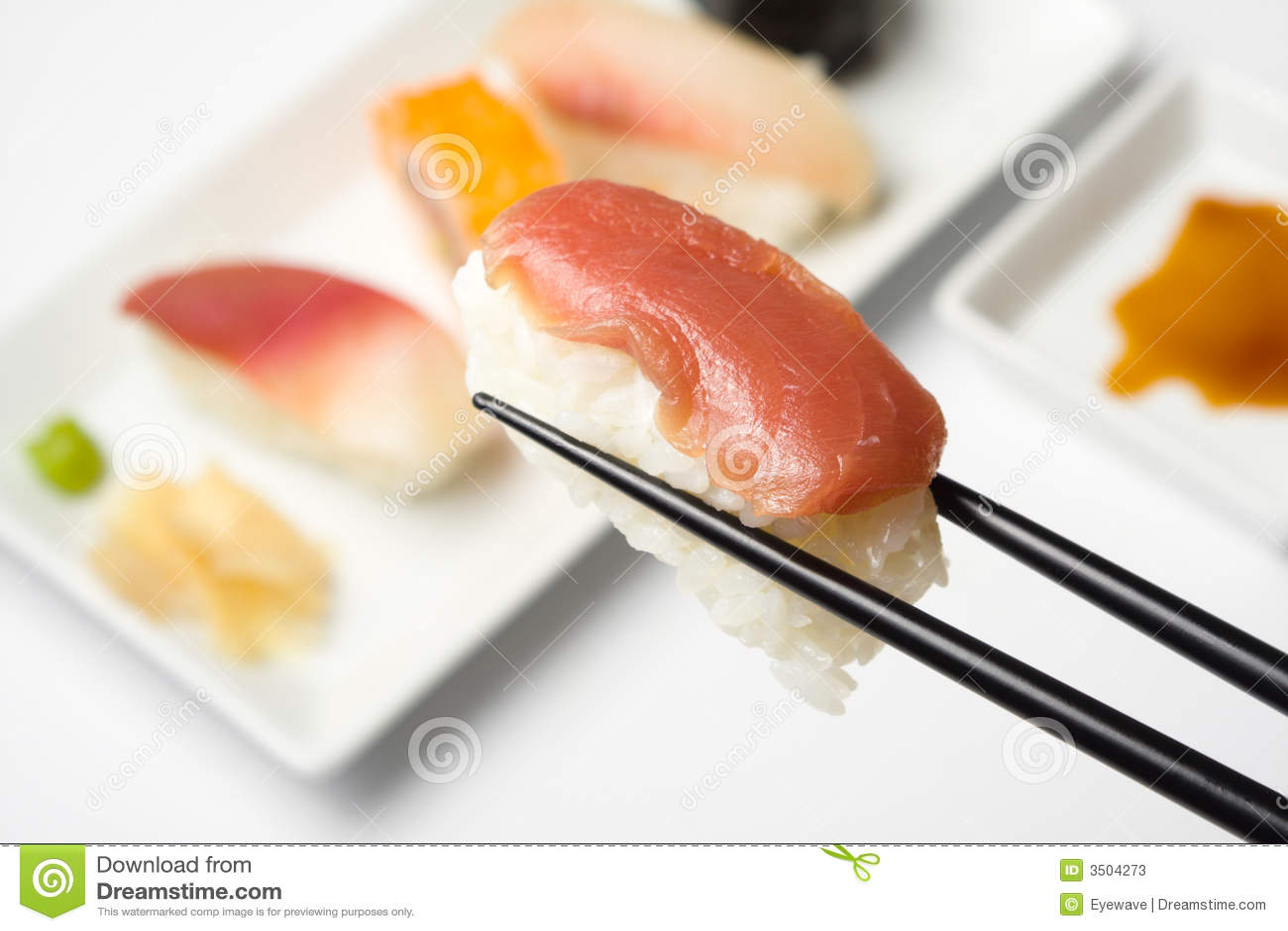 Série de sushi - nigiri de maguro