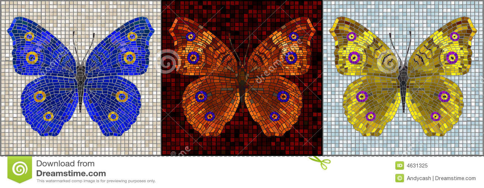 Série do mosaico