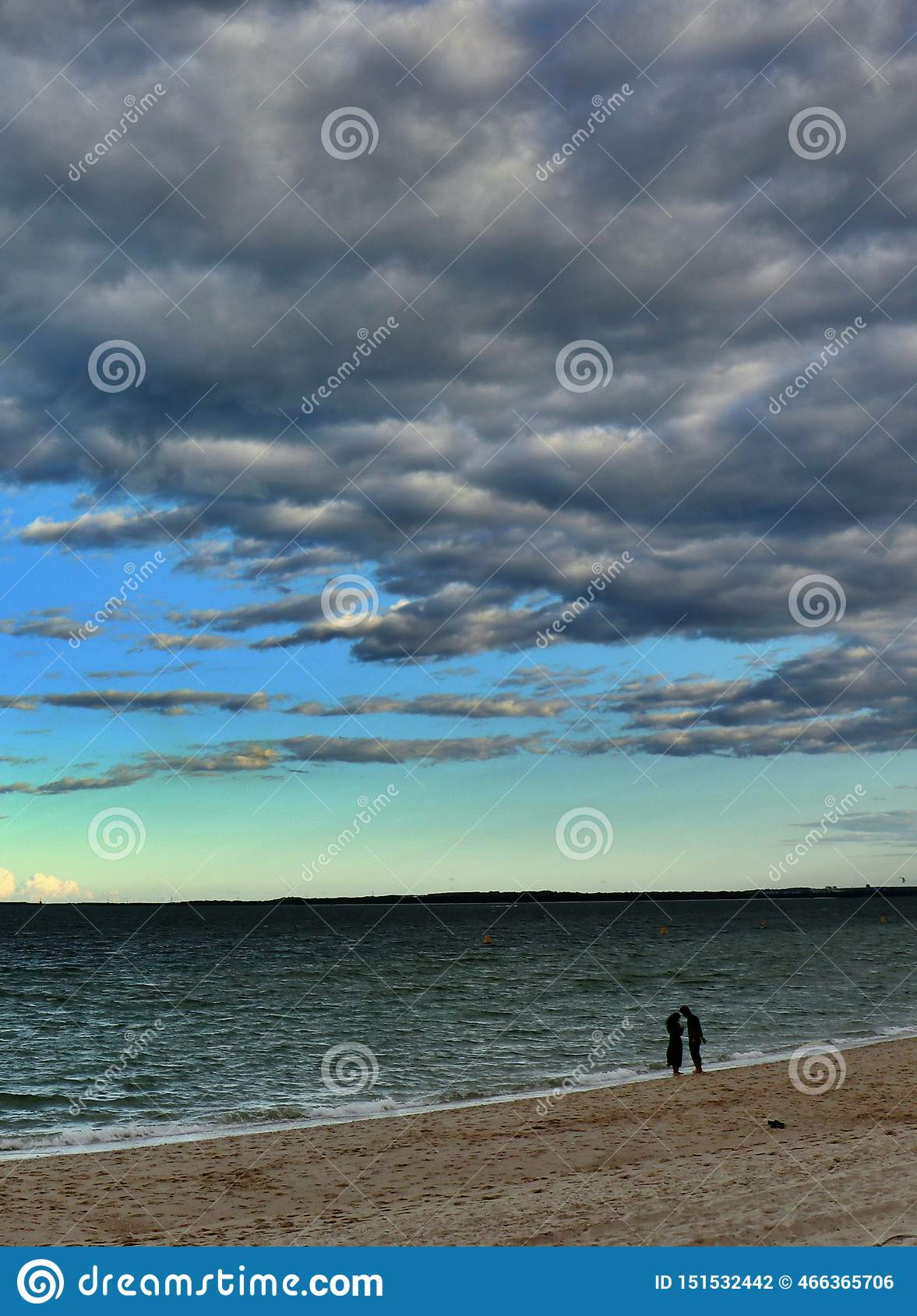 Série dos pares do beira-mar - as Brigghton-Le-areias encalham