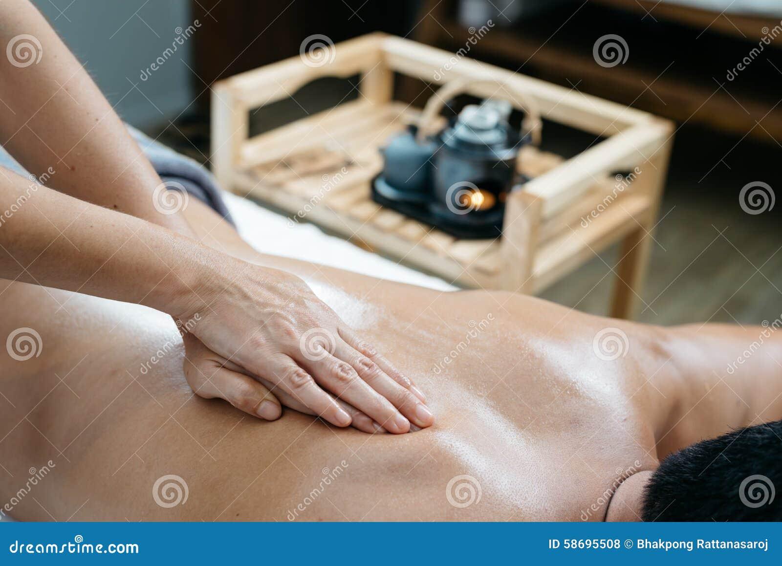 Série tailandesa da massagem