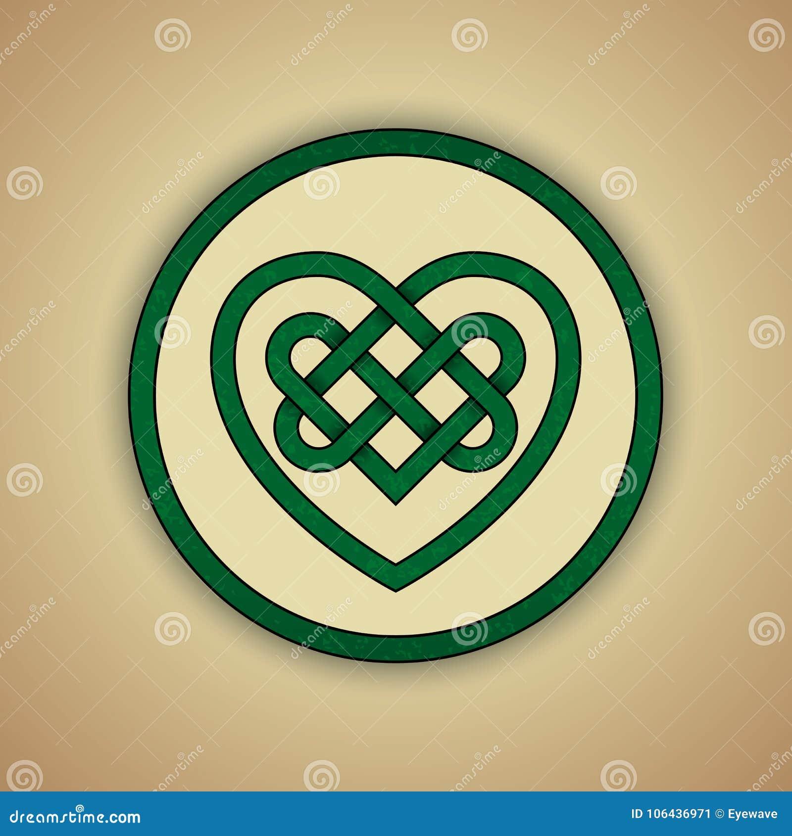 Símbolo céltico del nudo del amor