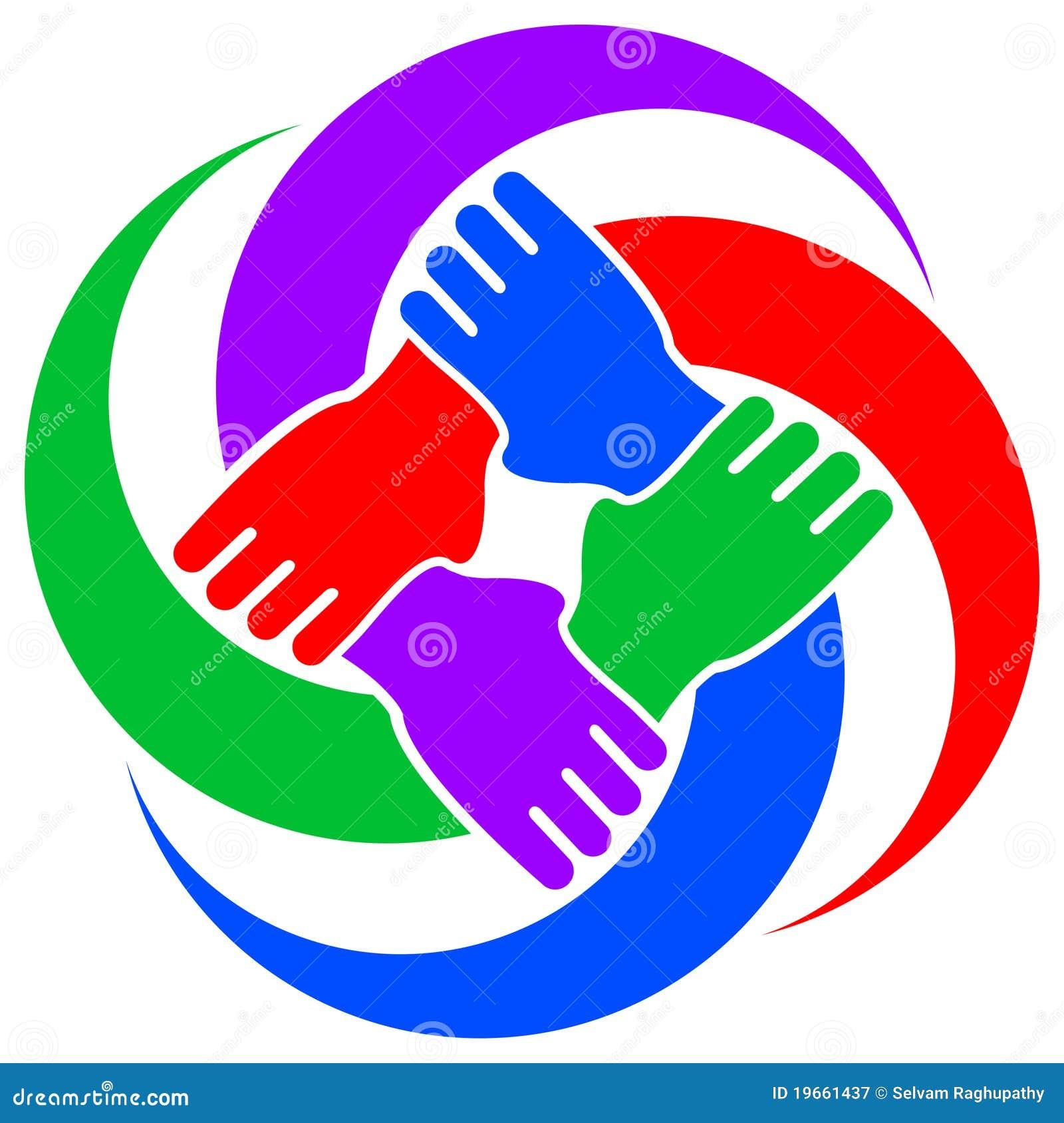 Símbolo da cooperação
