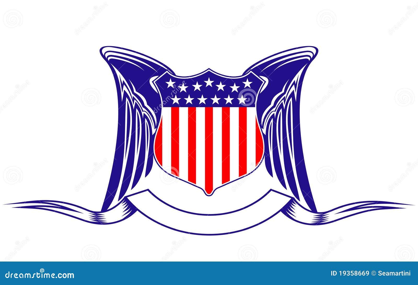 Símbolo da heráldica dos EUA
