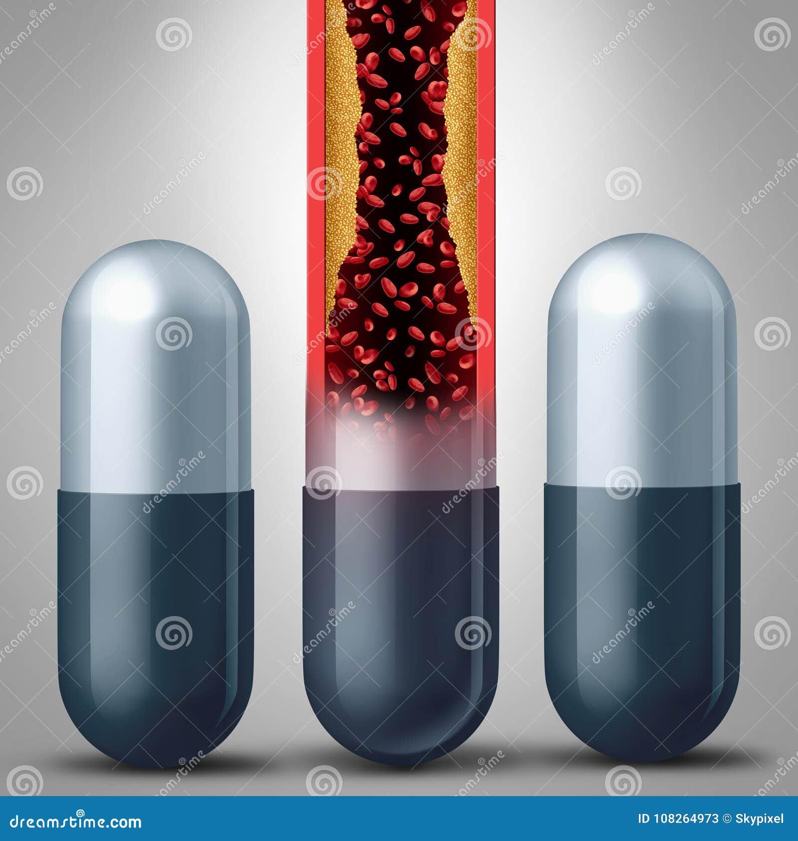 Símbolo da medicamentação do Statin