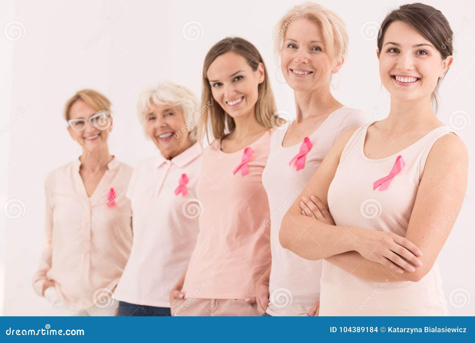 Símbolo de la lucha del cáncer de pecho