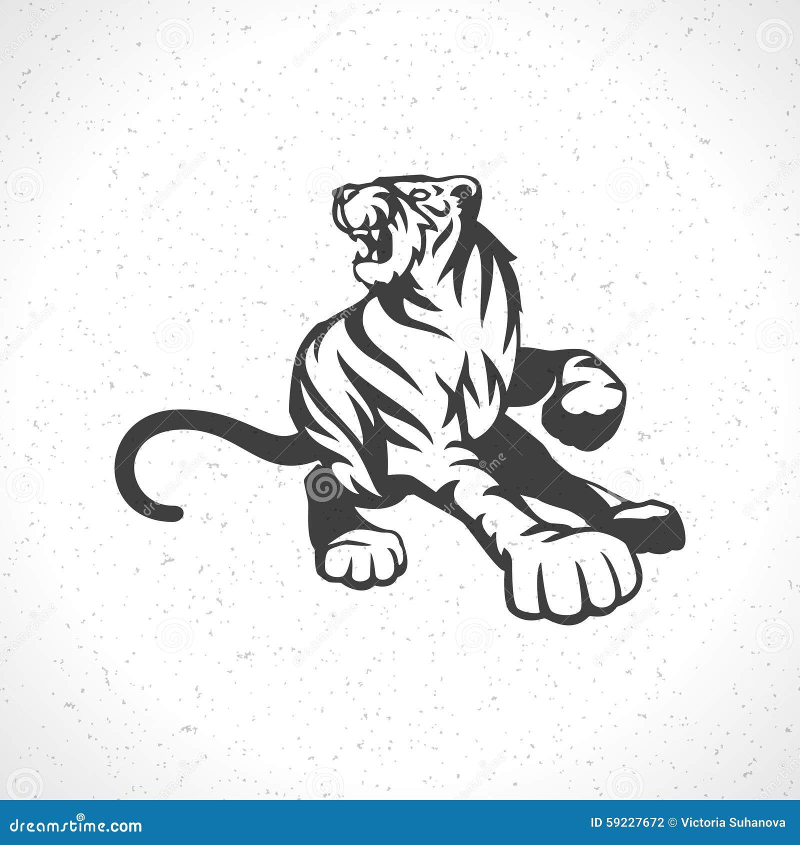 Download Símbolo De La Mascota De La Plantilla Del Emblema Del Logotipo Del Tigre Ilustración del Vector - Ilustración de pista, emblema: 59227672