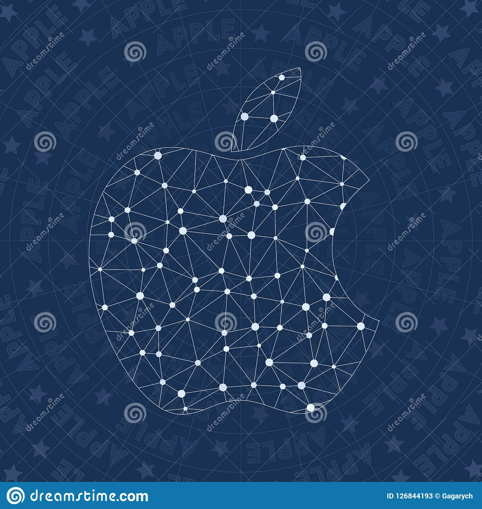 Símbolo de la red de Apple