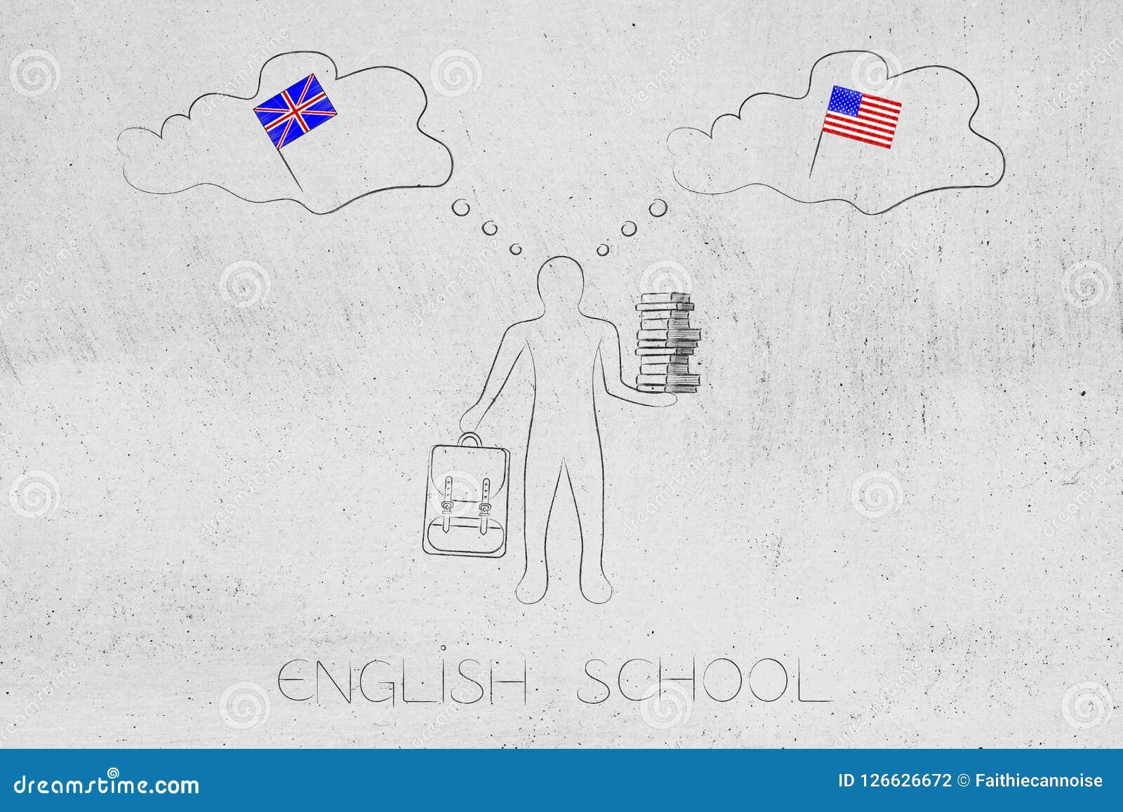 Pensó en inglés