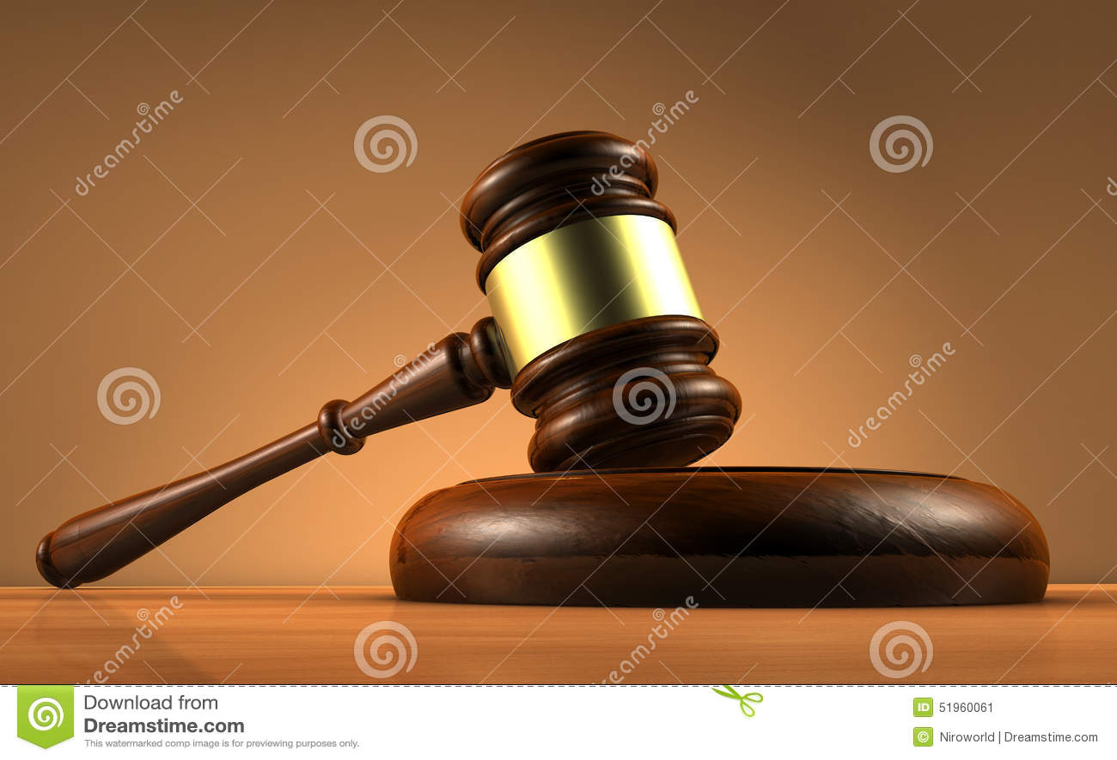 Símbolo de Law And Justice do juiz