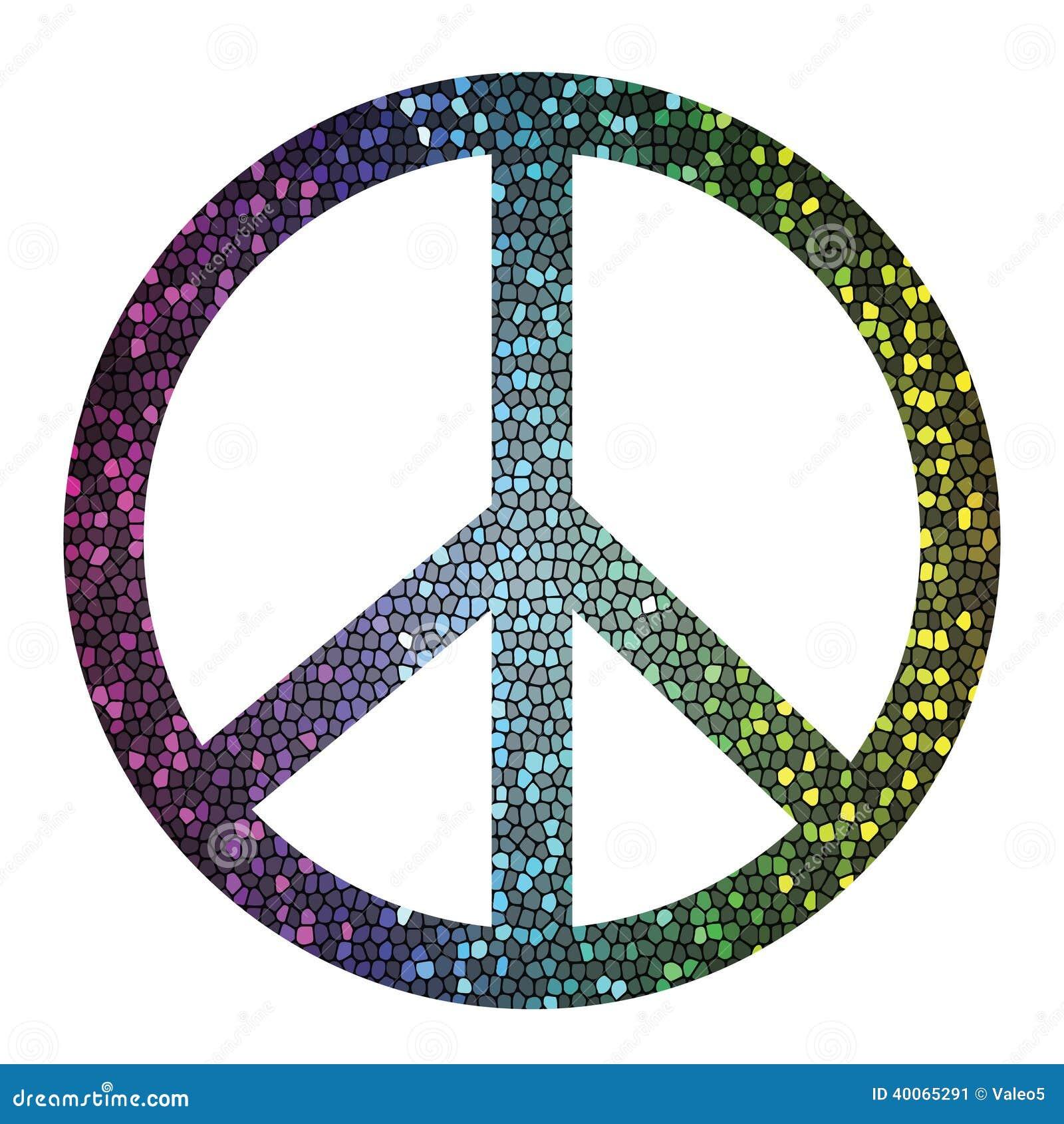 Simbolo De Paz Ilustracao Do Vetor Ilustracao De Decor 40065291