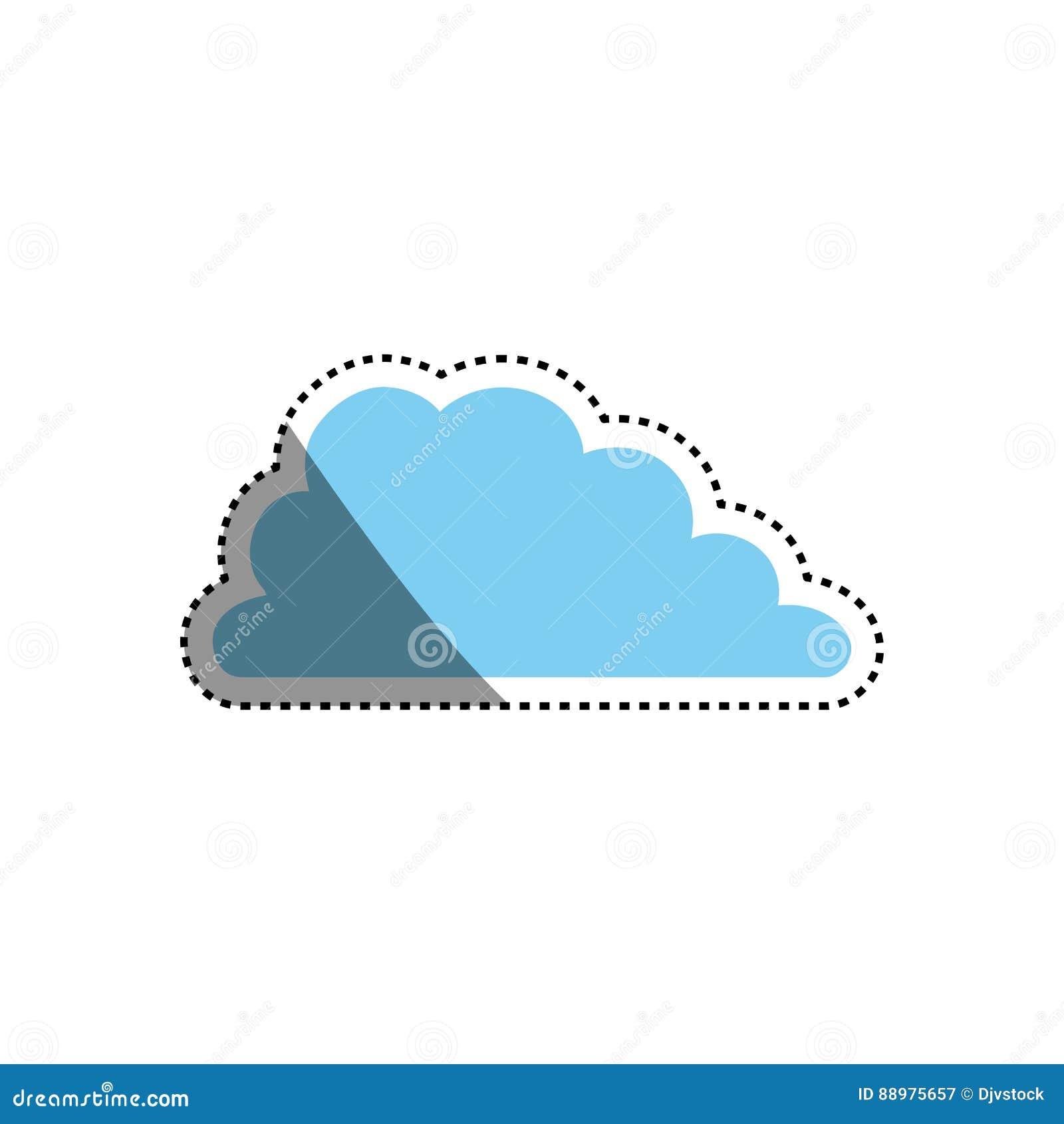 Símbolo de tempo da nuvem