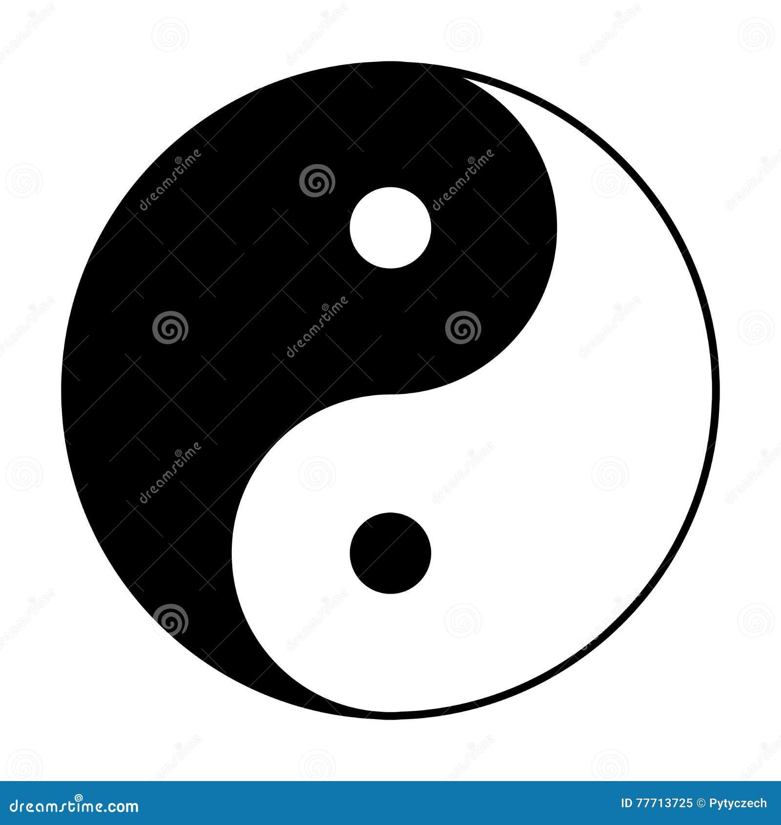 simbolo blanco y negro