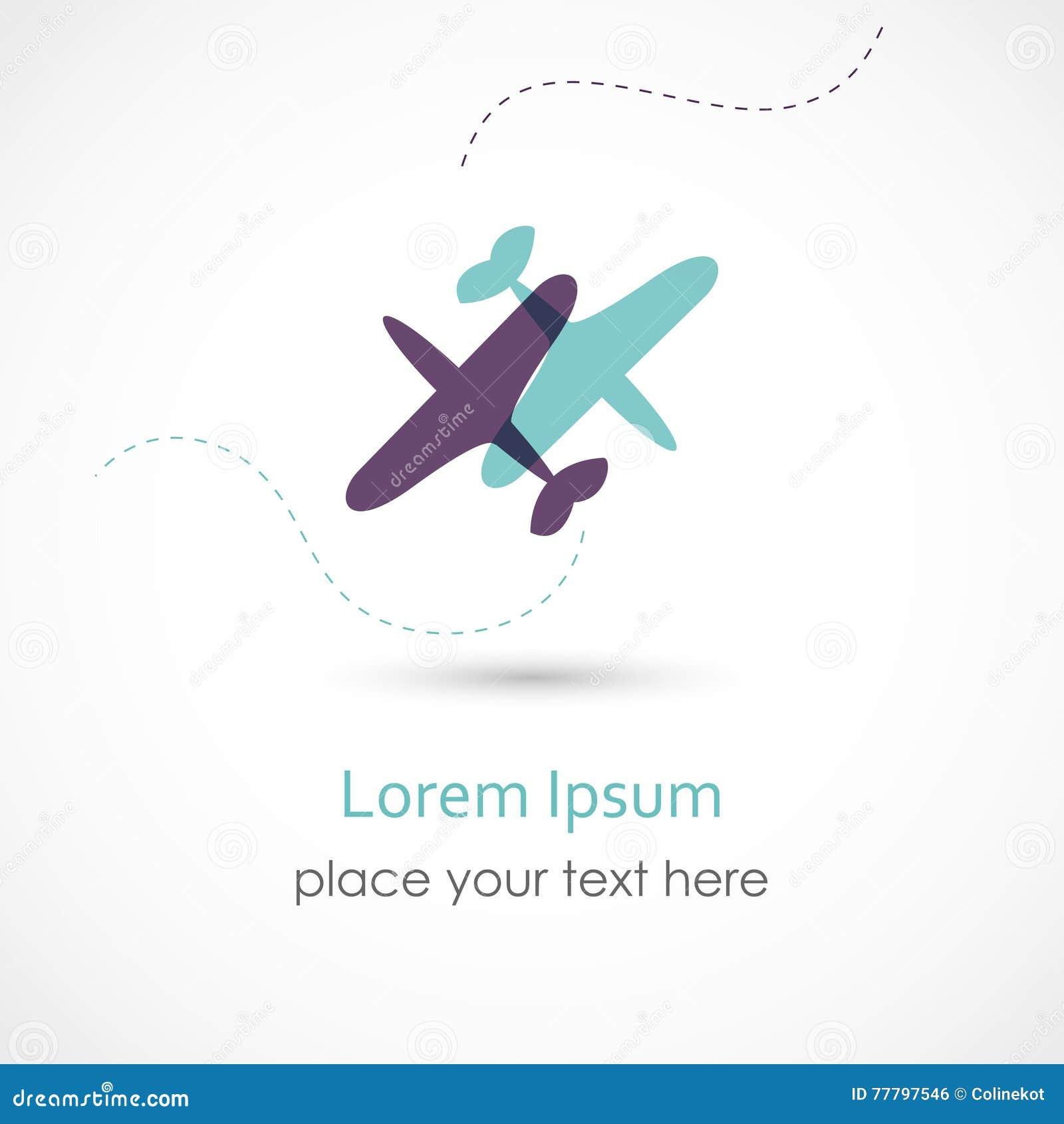 Símbolo del aeroplano