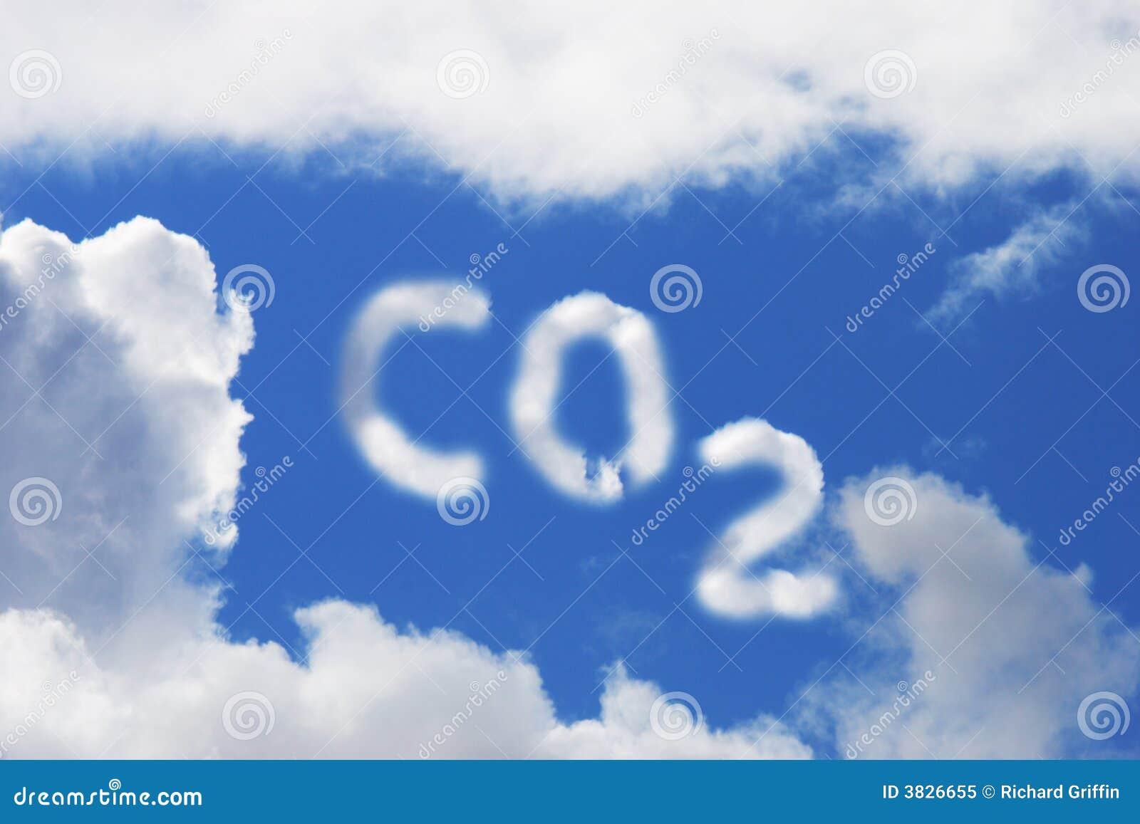 S mbolo del di xido de carbono foto de archivo libre de - Detectores de monoxido de carbono ...