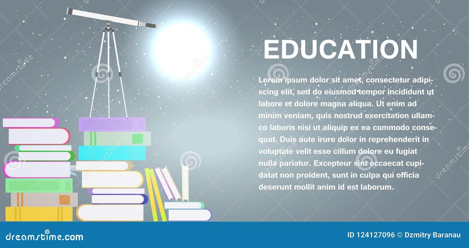 Símbolo del estudio de la educación escolar aislado Icono de la muestra del vector del concepto de la universidad Literatura de l