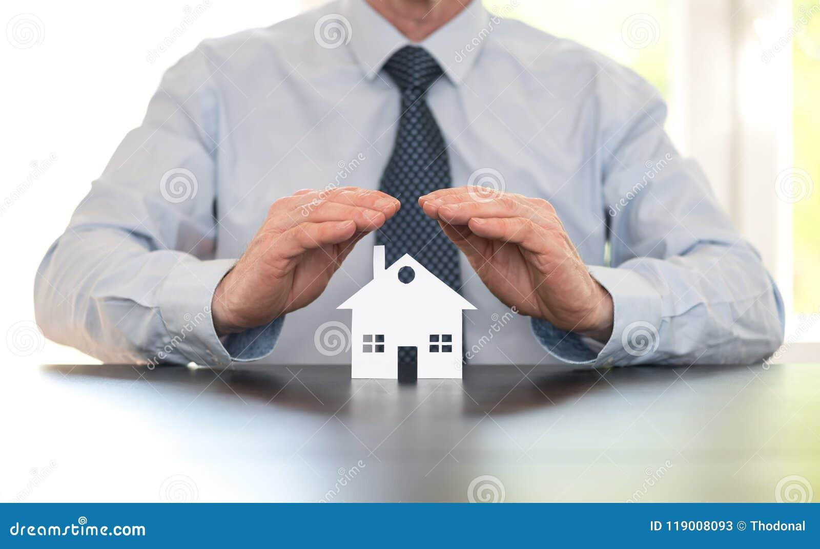 Símbolo del seguro casero