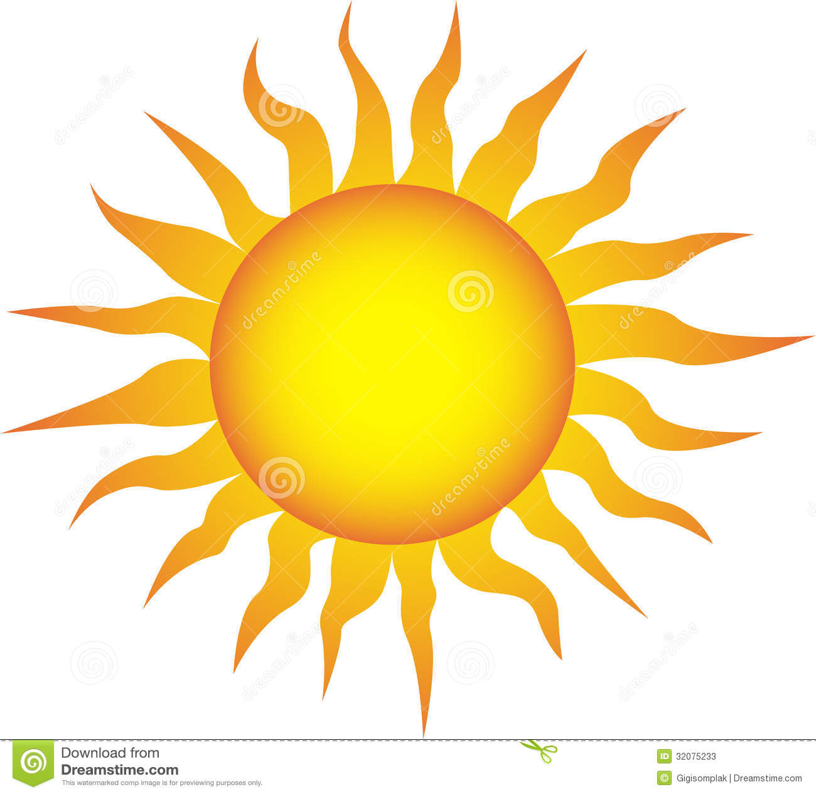 S mbolo del sol en un fondo blanco fotos de archivo for Fondo del sol