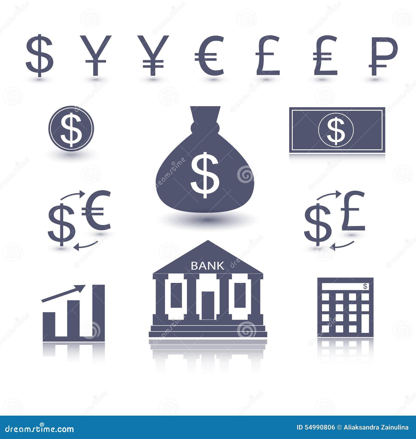 Símbolo do dinheiro do vetor