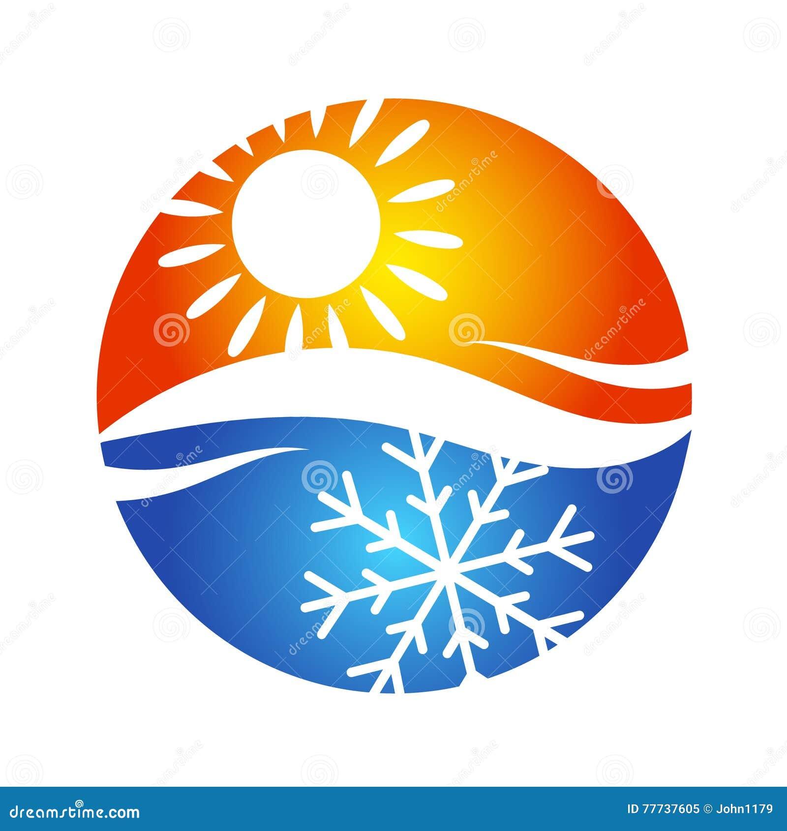 S 237 Mbolo Do Logotipo Do Condicionamento De Ar Ilustra 231 227 O Do