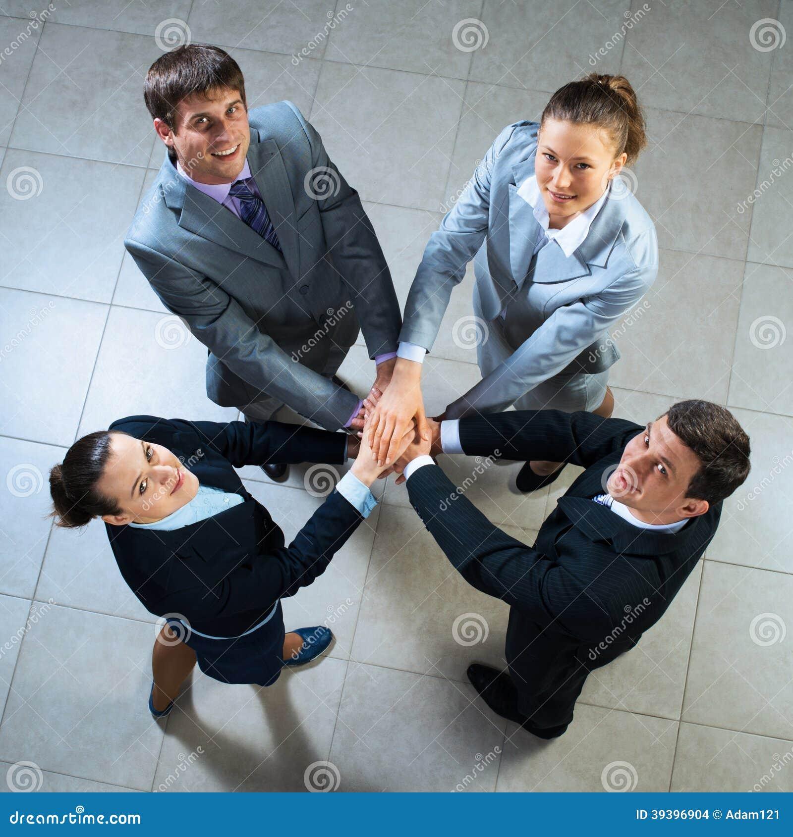 Símbolo dos trabalhos de equipa