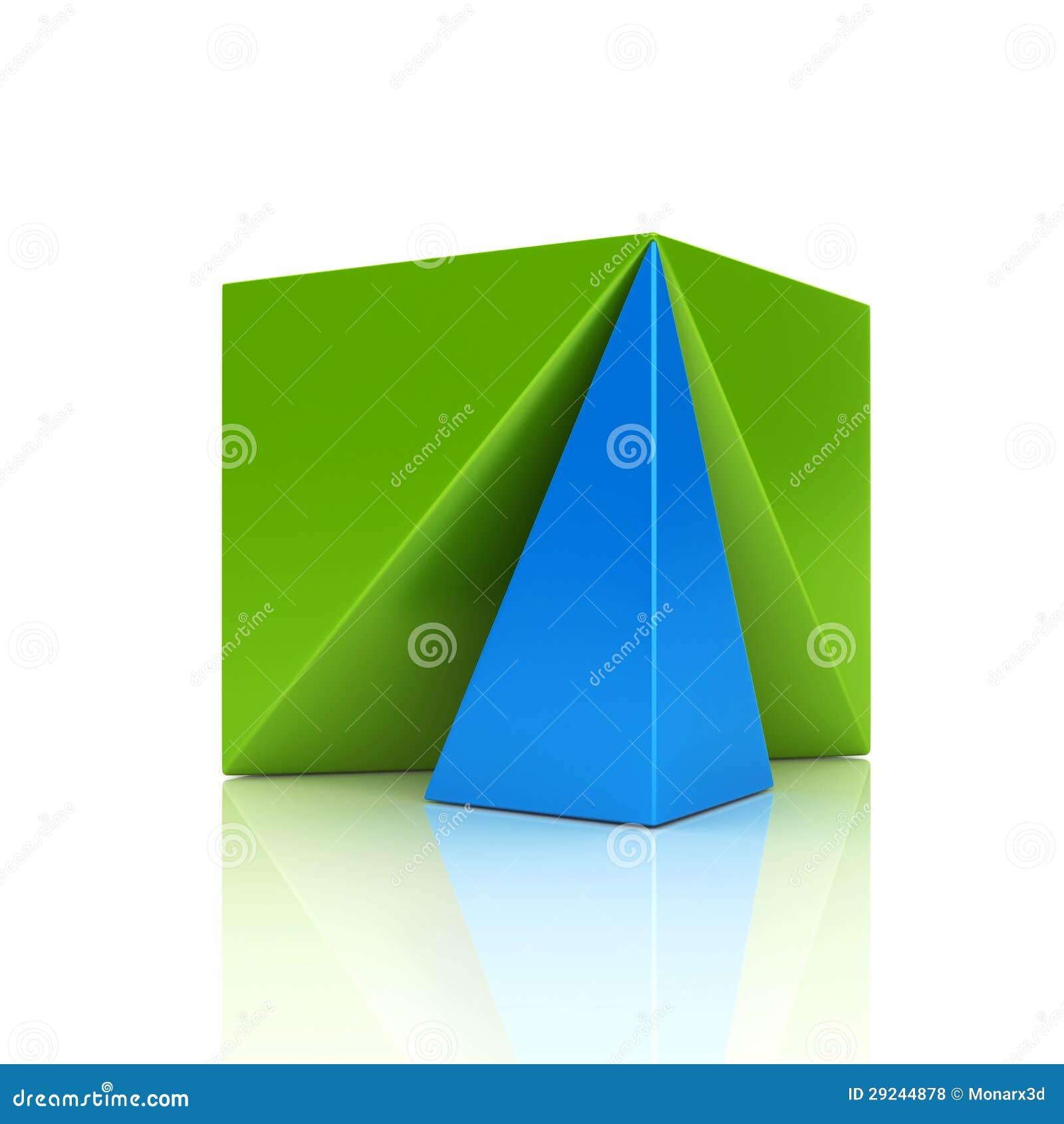 Download Símbolo Metálico Da Cor Abstrata Com Cubo Ilustração Stock - Ilustração de abstraction, chave: 29244878