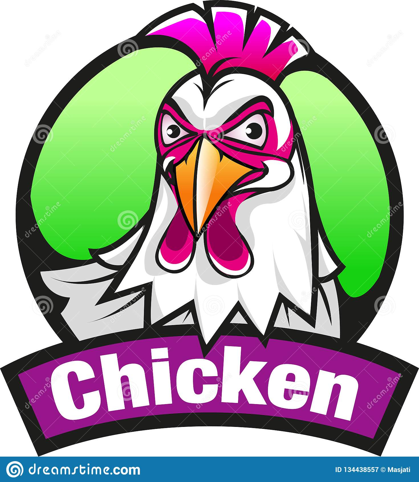 Símbolo o icono del pollo
