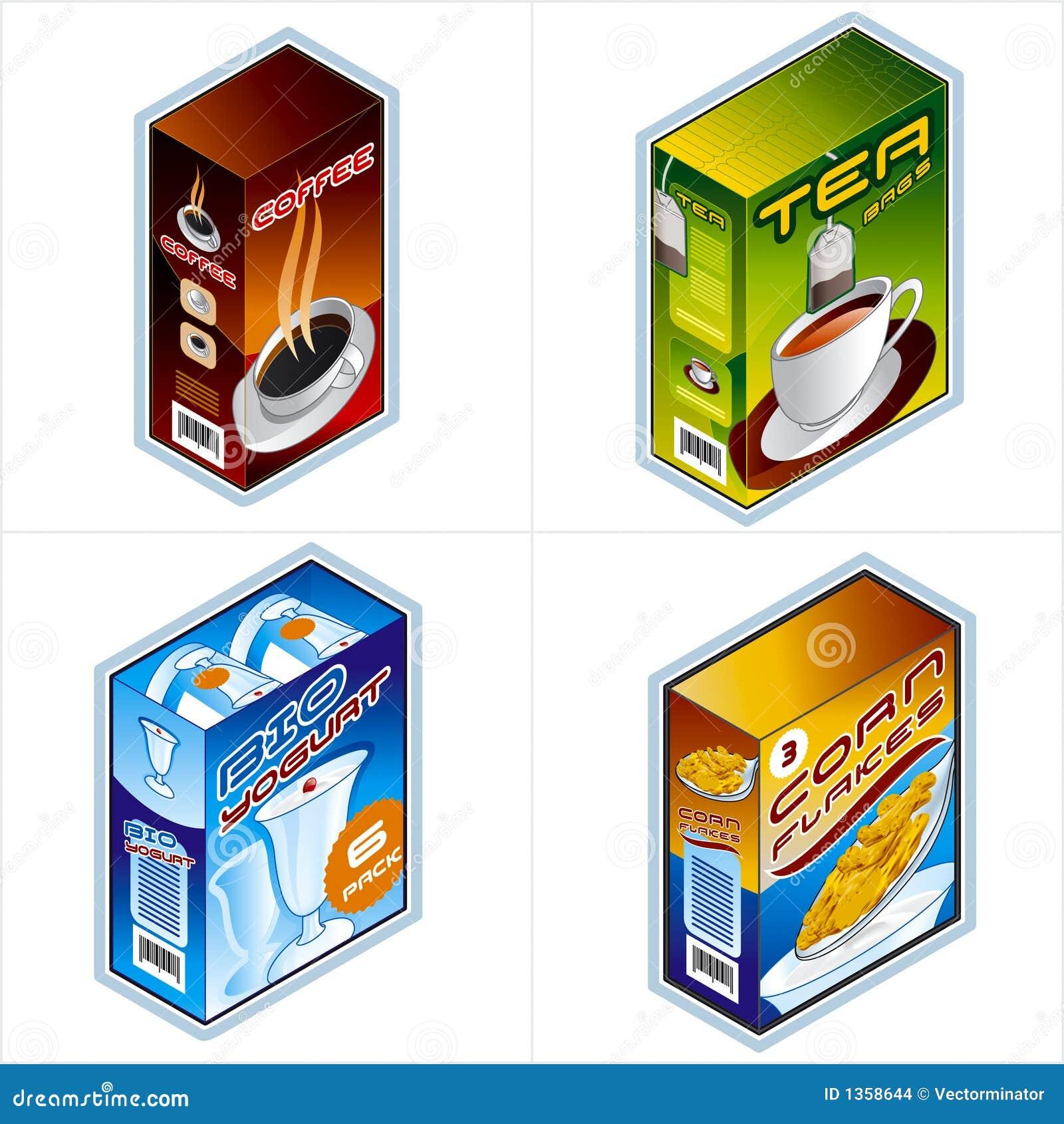 Símbolos 34b. Iconos de la tienda de comestibles