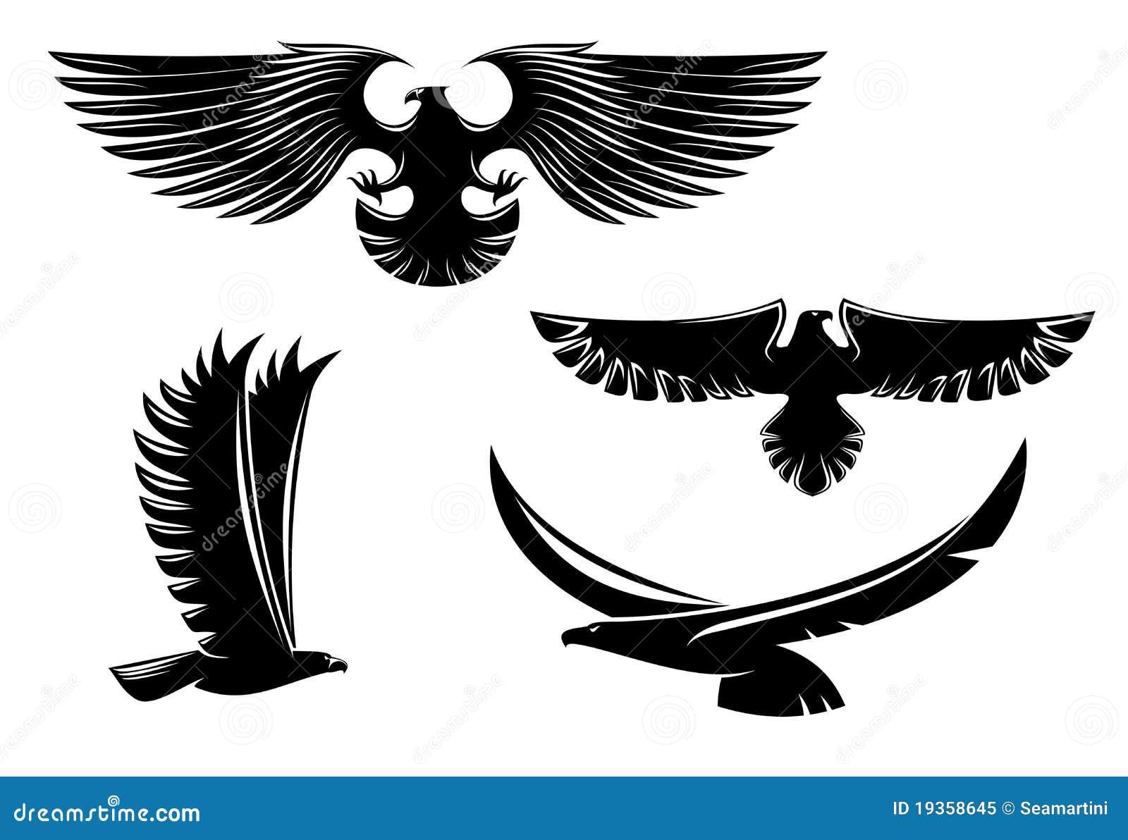 Símbolos da águia da heráldica