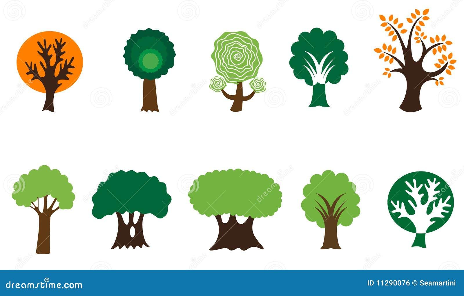 Símbolos da árvore
