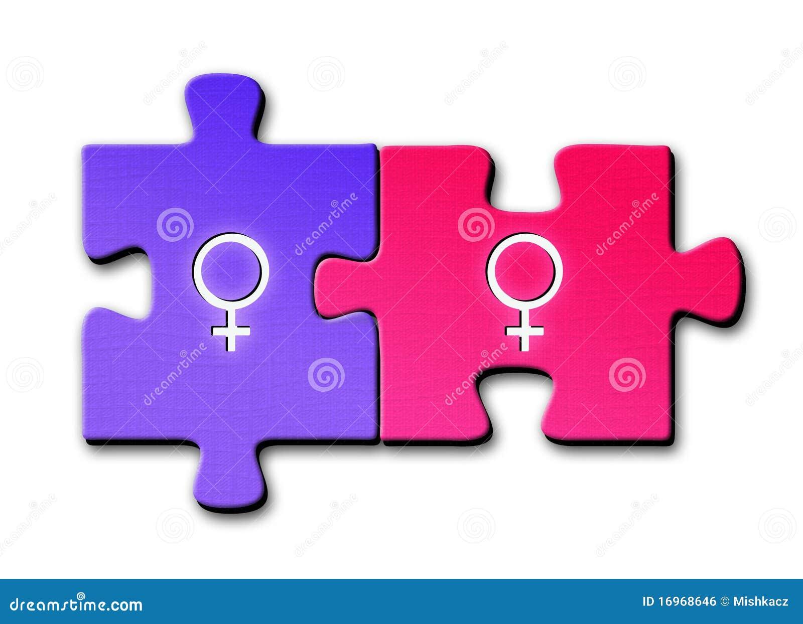 Símbolos da lésbica