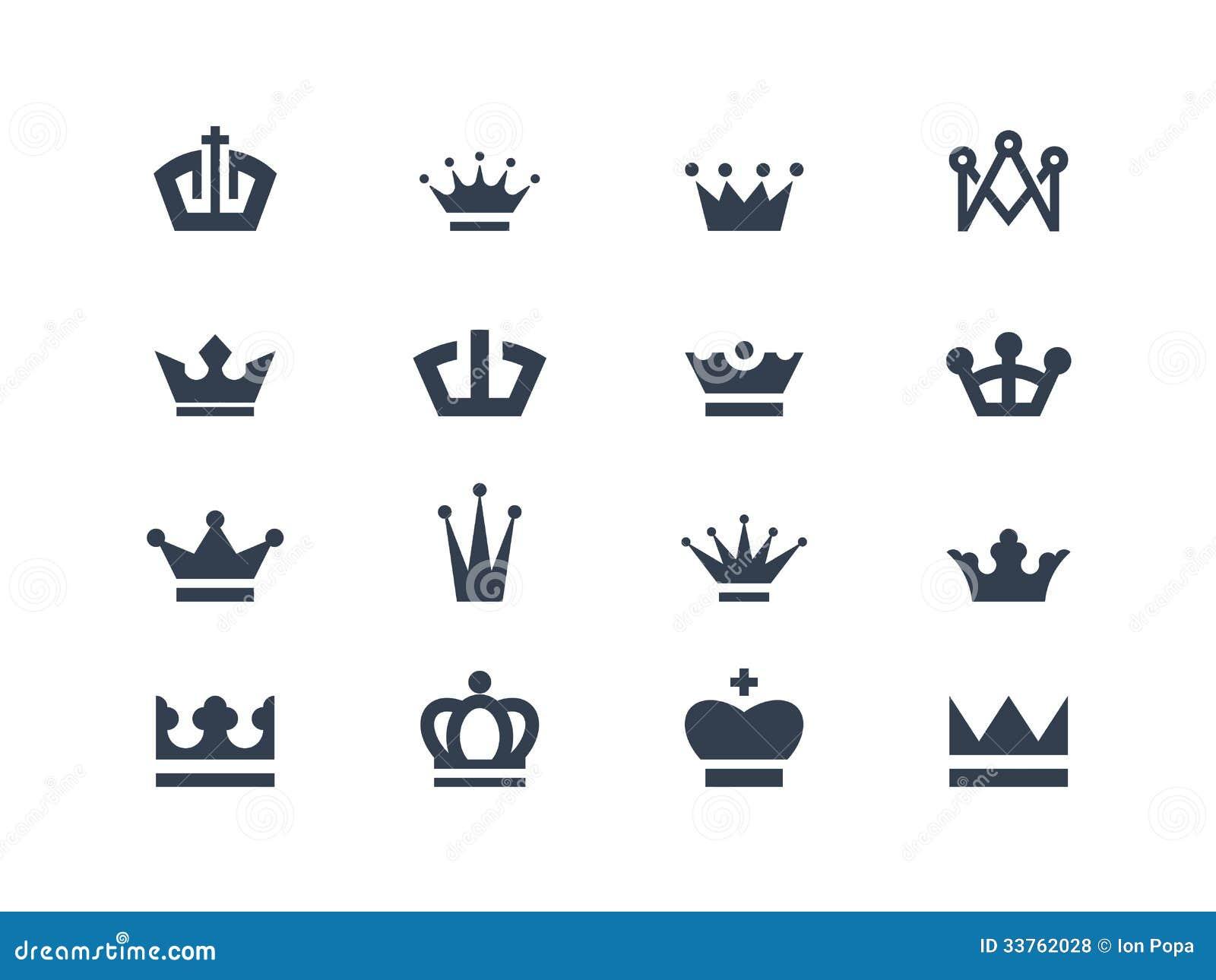 Símbolos de la corona