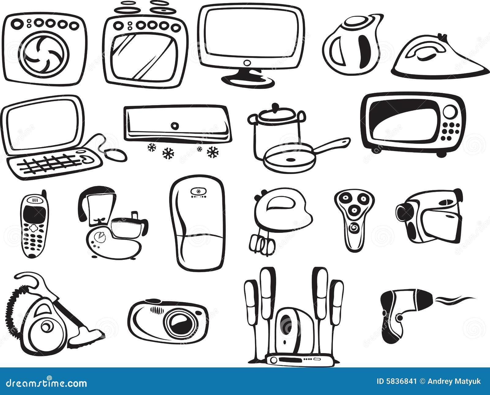 S mbolos de los aparatos electrodom sticos y electr nico - Lo ultimo en electrodomesticos ...