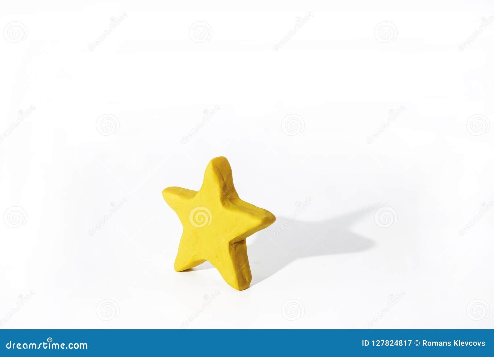 Símbolos del Islam Objetos hechos de la arcilla del juego Foto aislada extracto