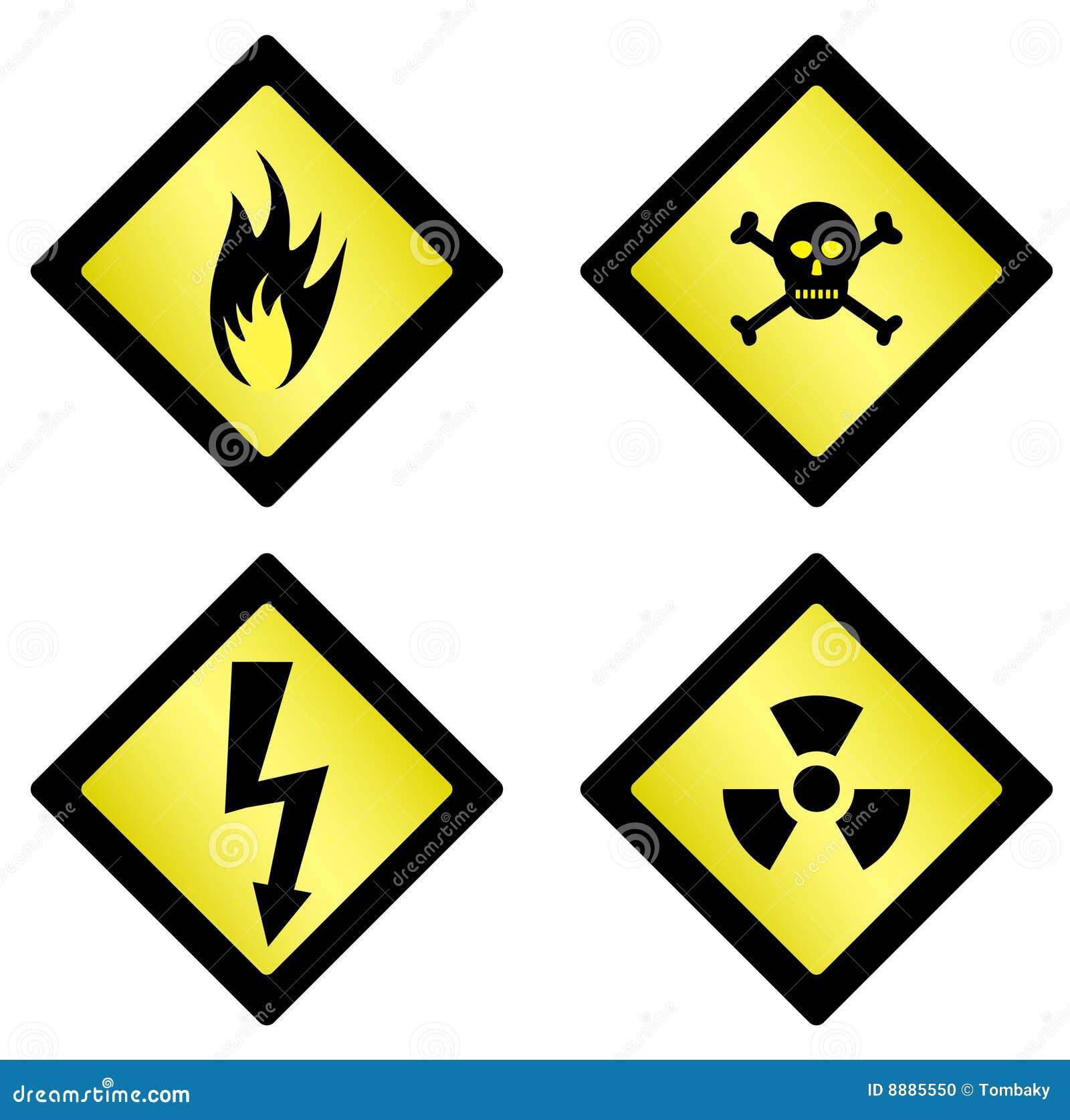 Símbolos do perigo