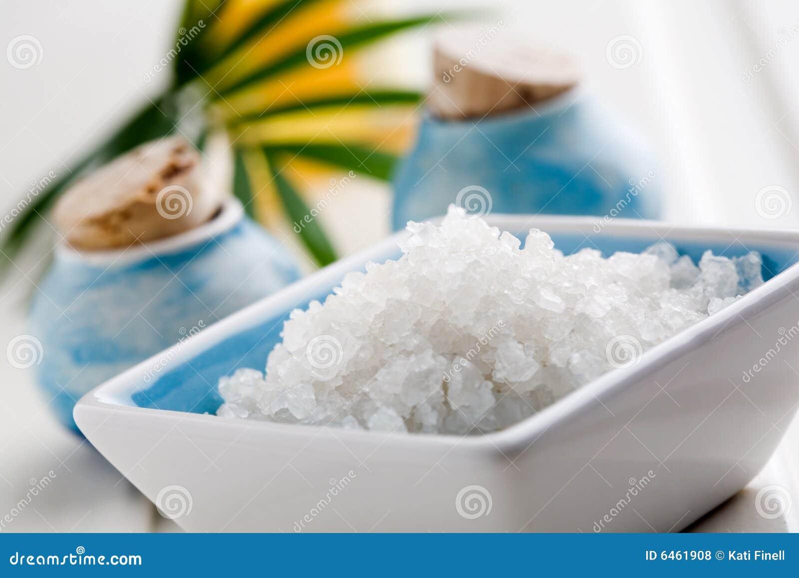 Sól w wannie