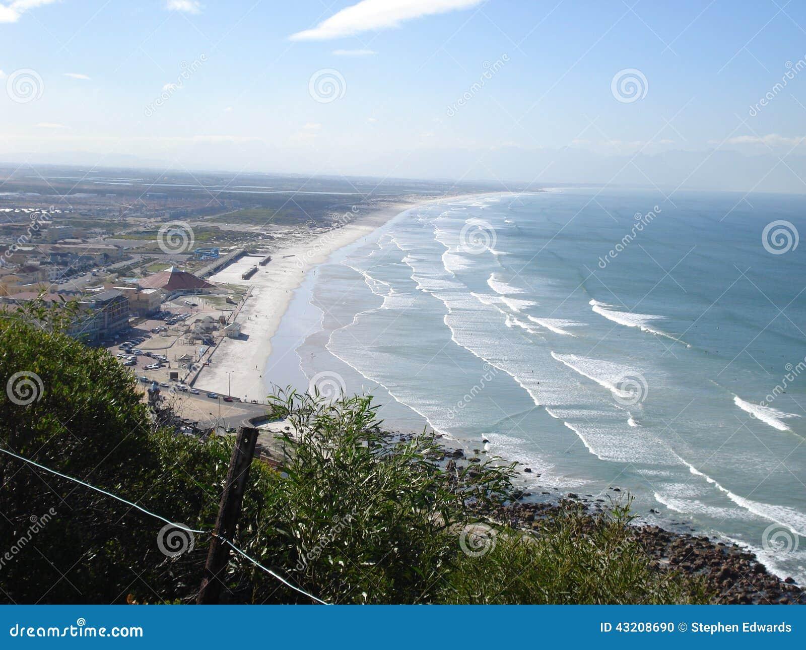 Download Södra - afrikanvågor arkivfoto. Bild av egenskap, utomhus - 43208690
