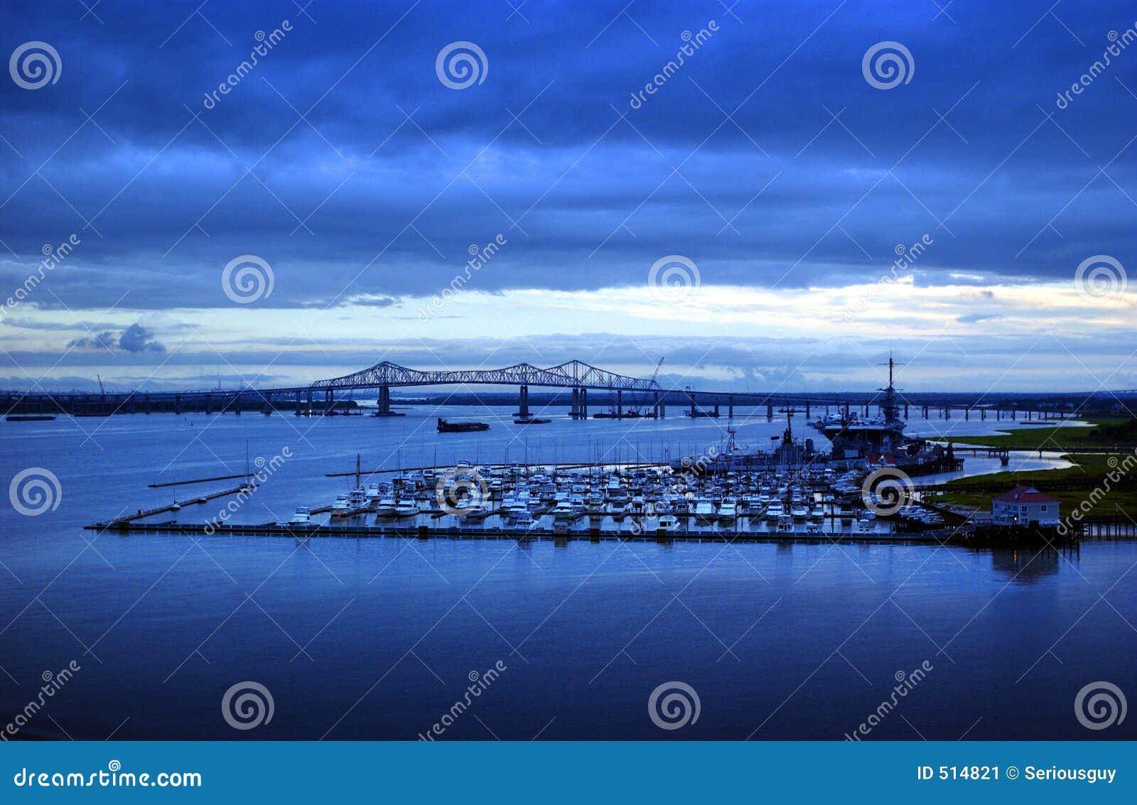 Södra carolina charleston hamn