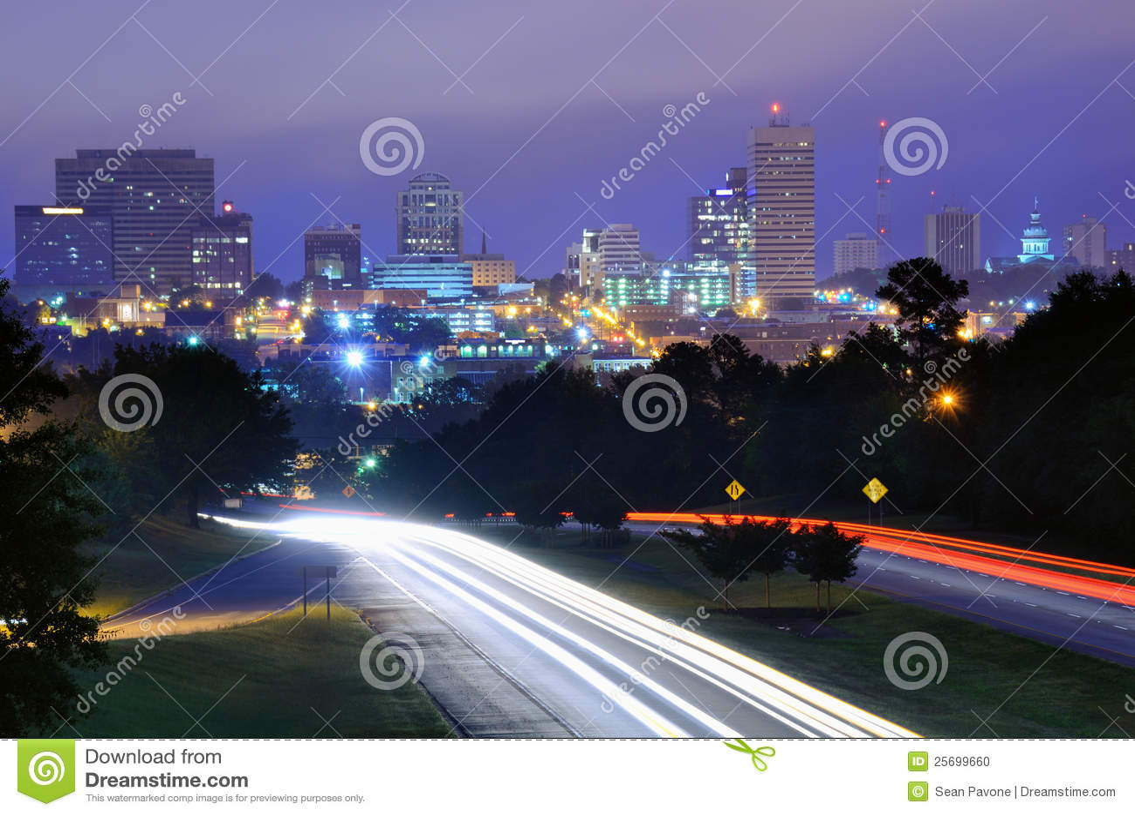 Södra carolina columbia horisont