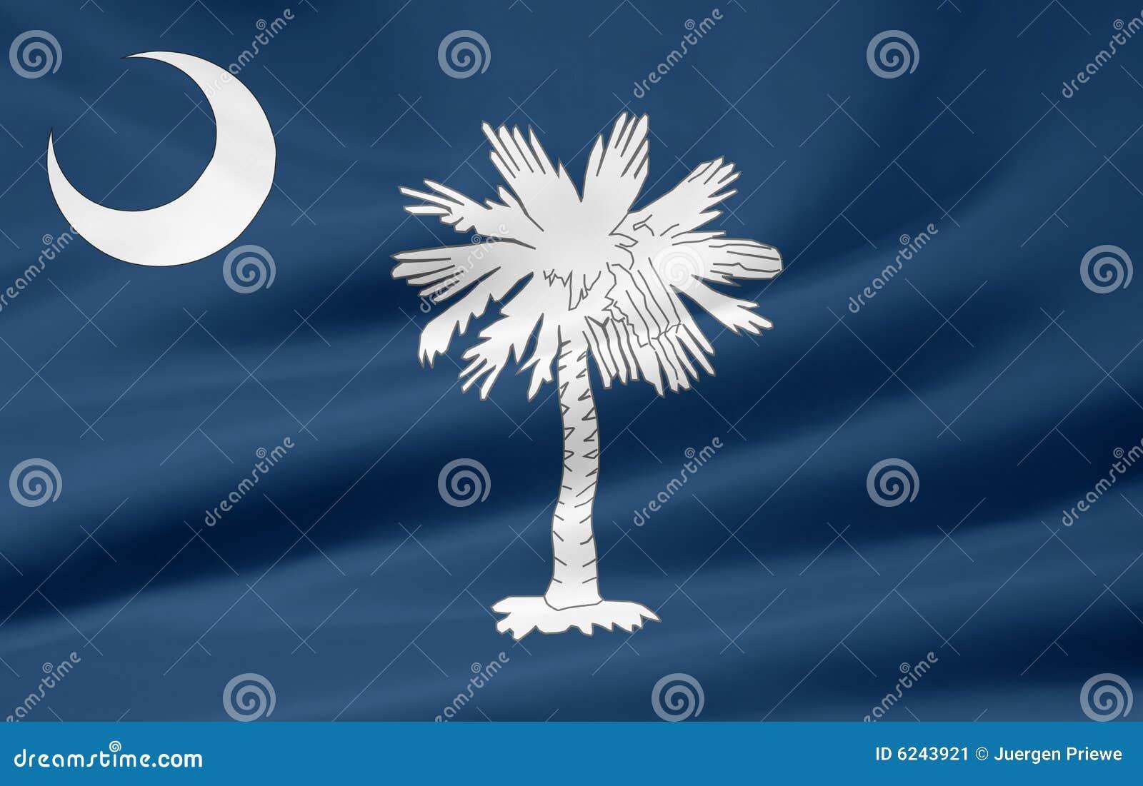 Södra carolina flagga
