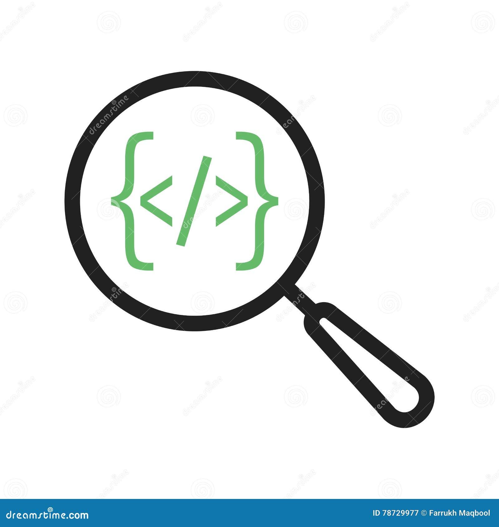Sökande från kod