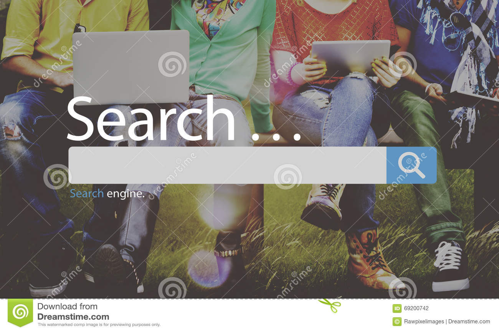 SökandeSeo Online Internet Browsing Web begrepp