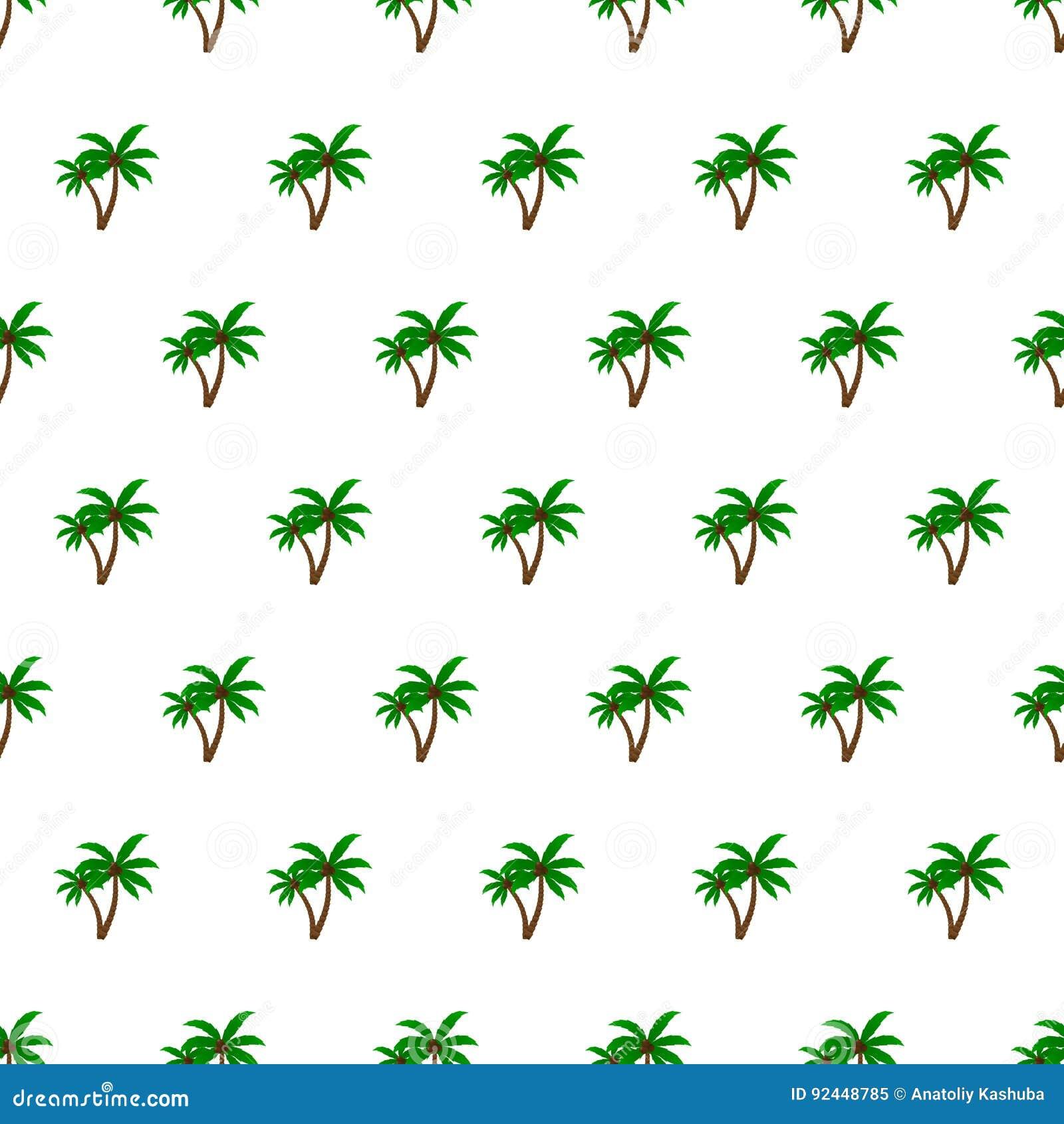 Sömlös bakgrund för palmträd för modellsommarstrand med mallen i provkartor för din bekvämlighet Enkelt att använda