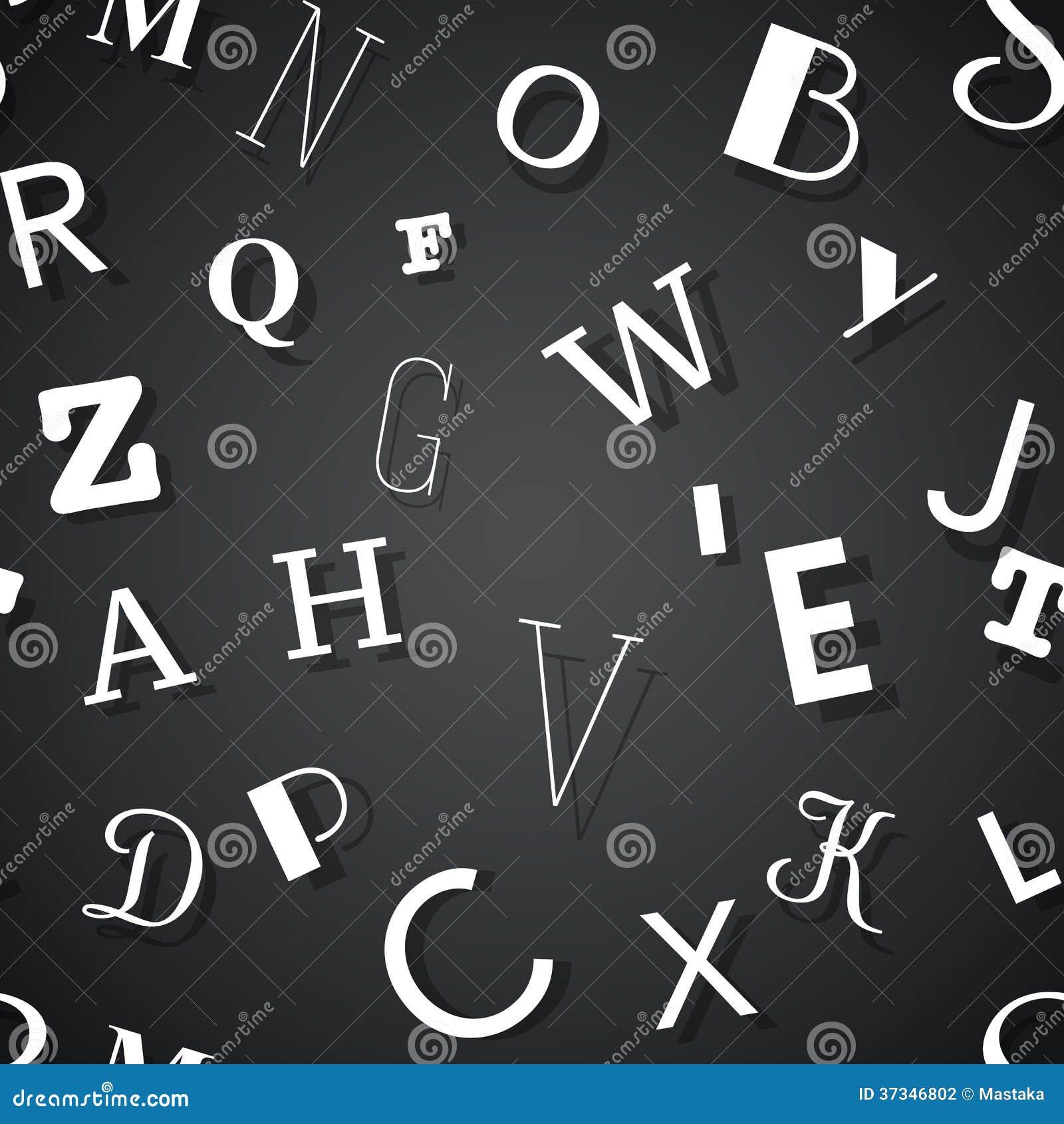 Sömlös bakgrund för typografi