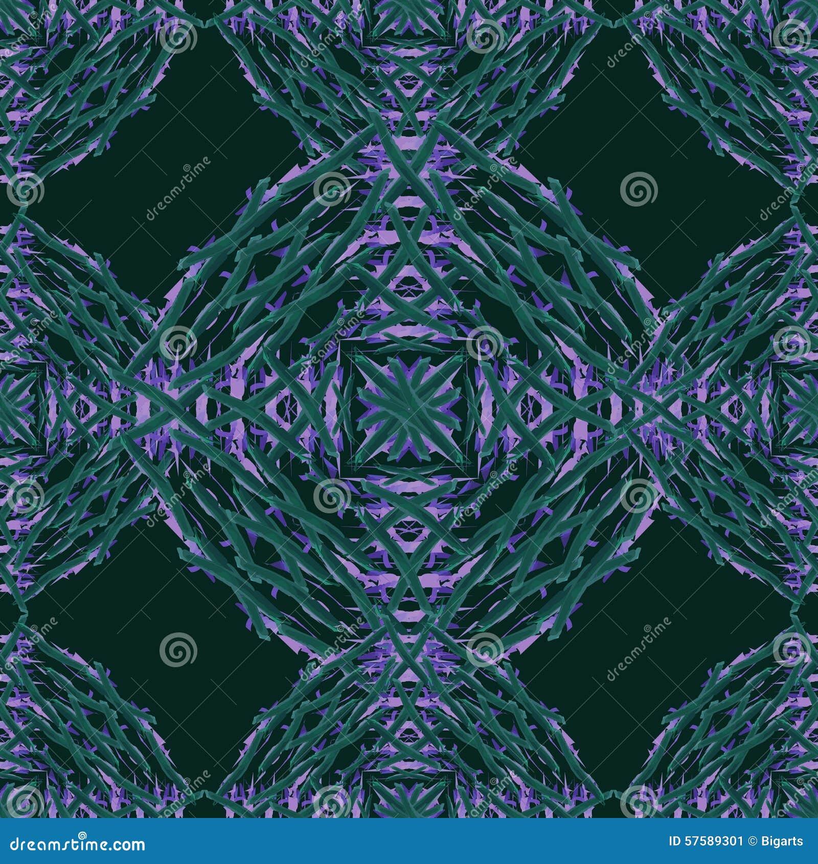 Sömlös belagd med tegel prydnad för vektor abstrct