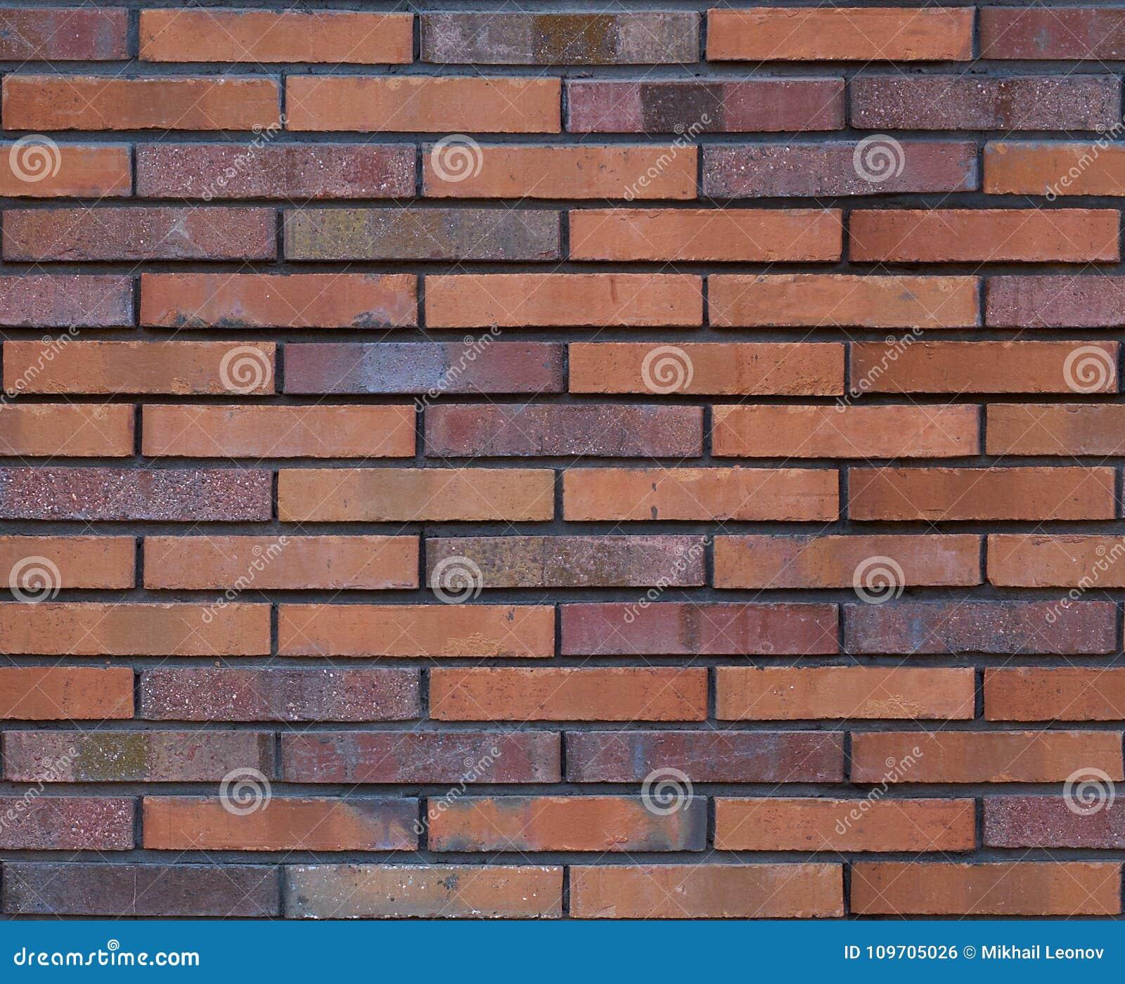 Sömlös brun textur för bakgrund för modell för tegelstenvägg seamless vägg för bakgrundstegelsten Arkitektonisk sömlös tegelstenm
