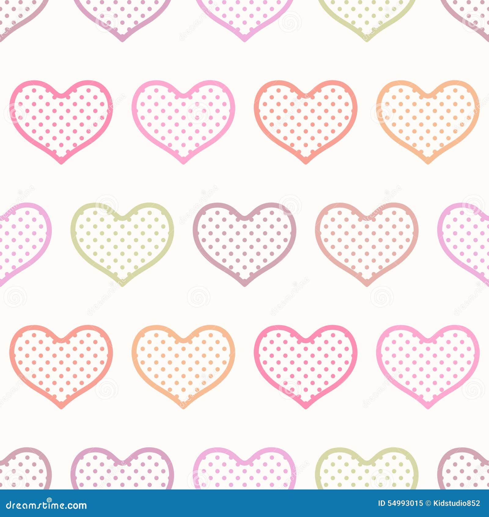 Sömlös hjärta texturerad bakgrund