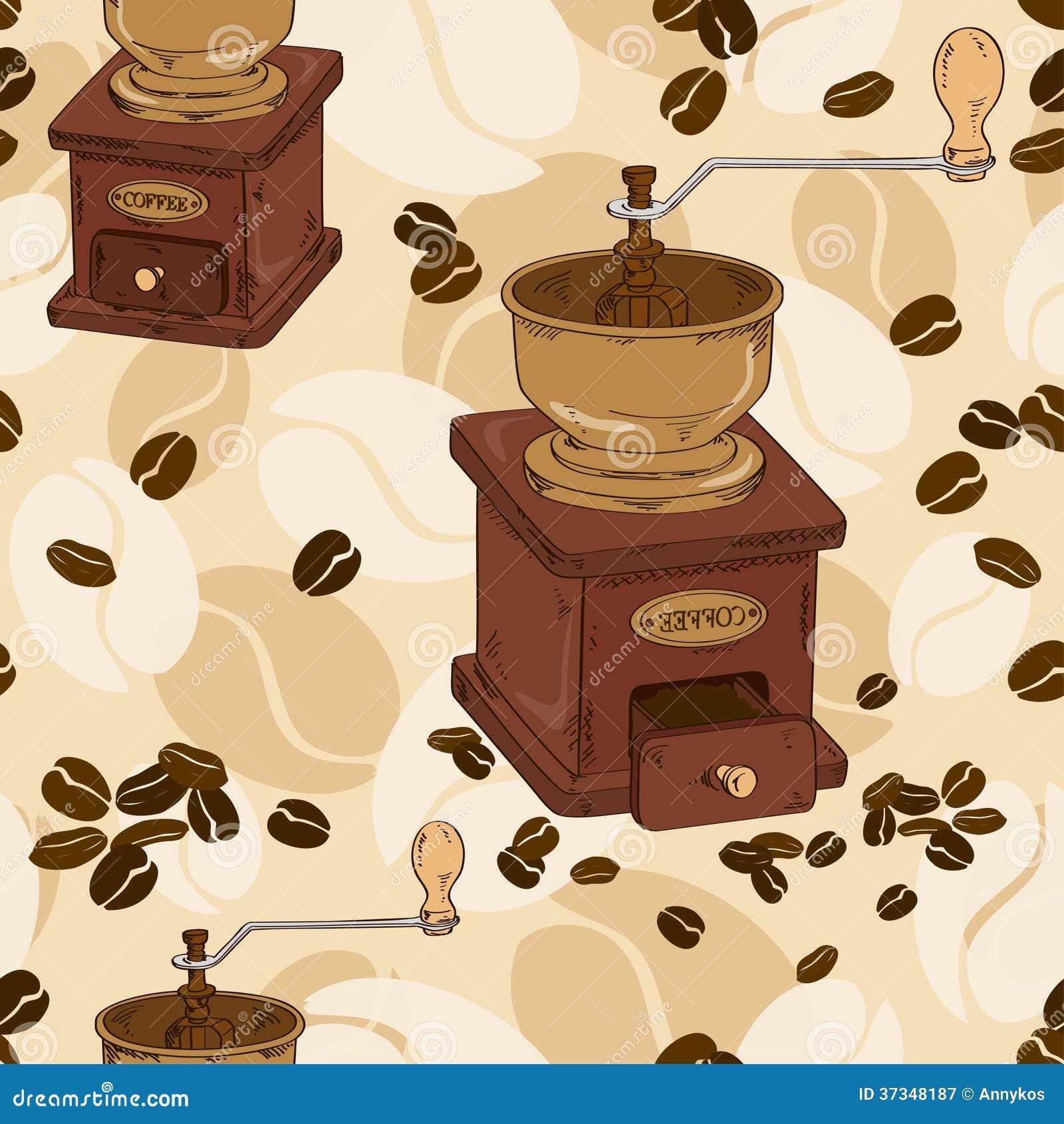 Sömlös modell av kaffekvarnen