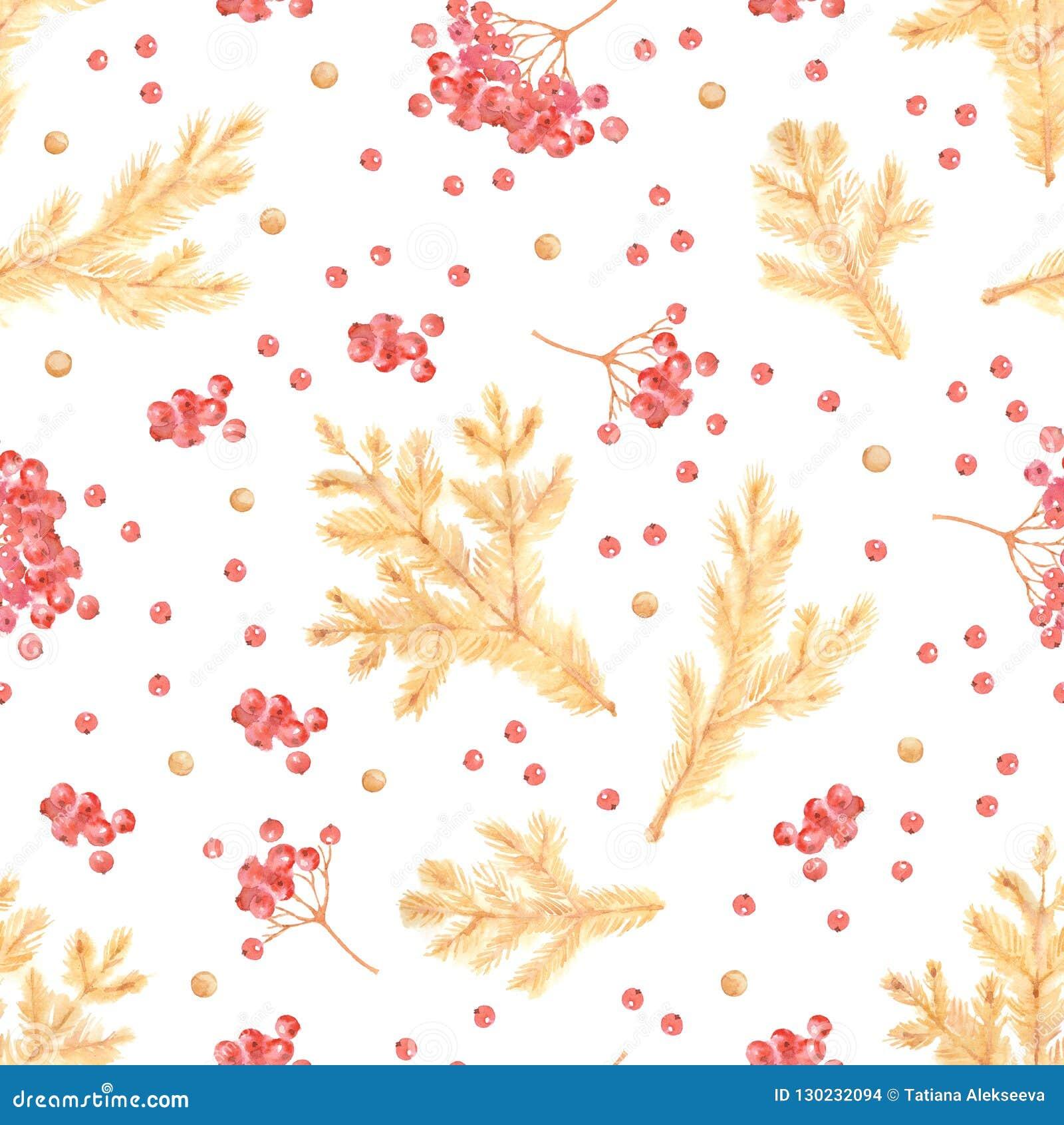 Sömlös modell av rönnbär, guld- konfettier och att sörja kli